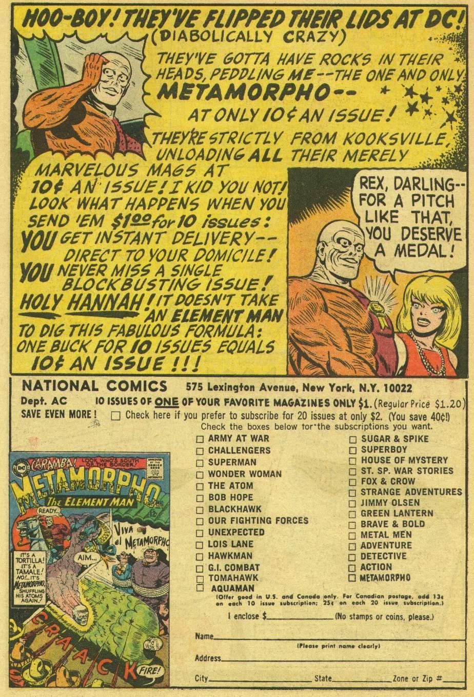 Read online Aquaman (1962) comic -  Issue #25 - 34