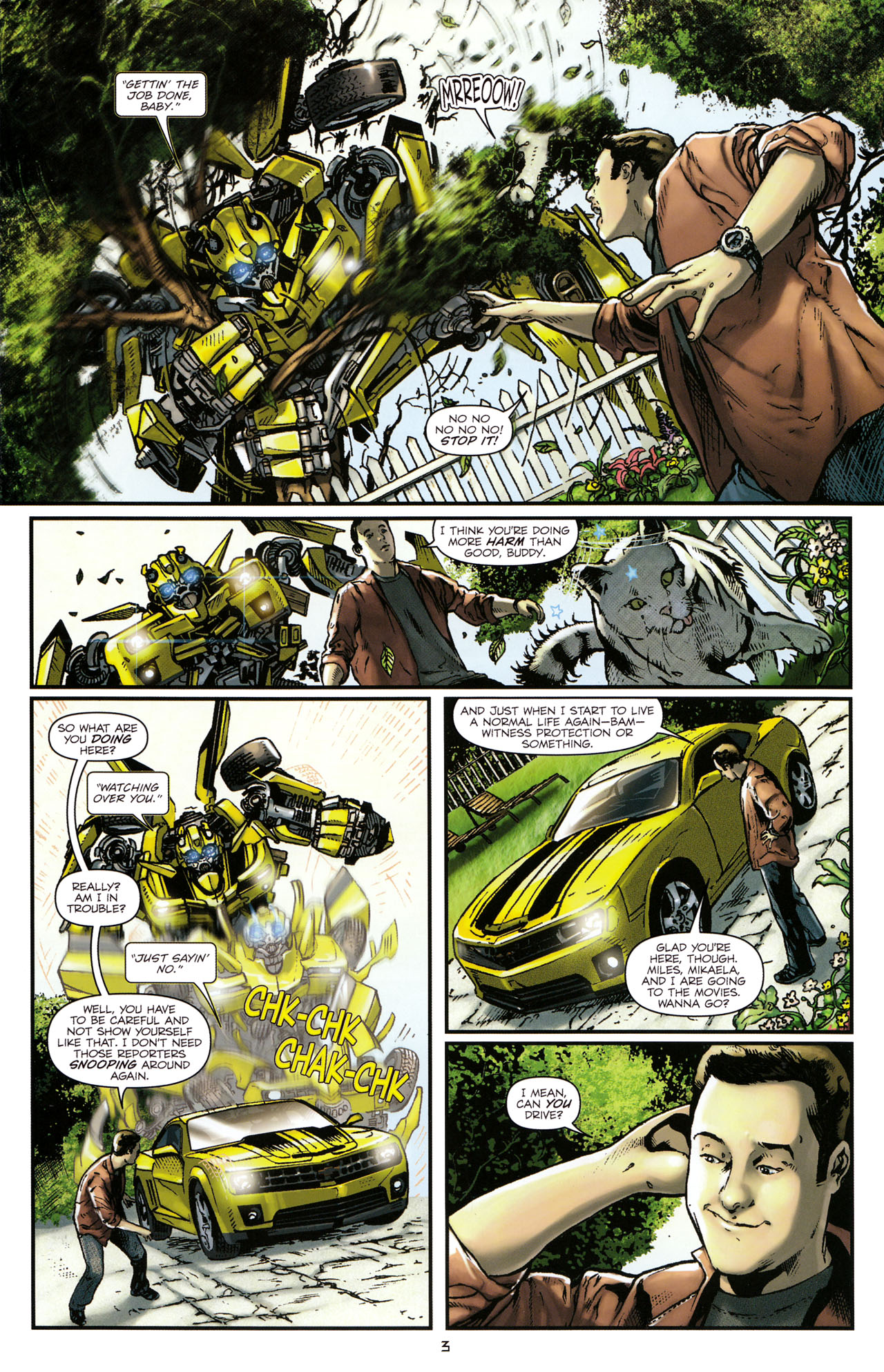 Read online Transformers: Tales of The Fallen comic -  Issue #1 - 5