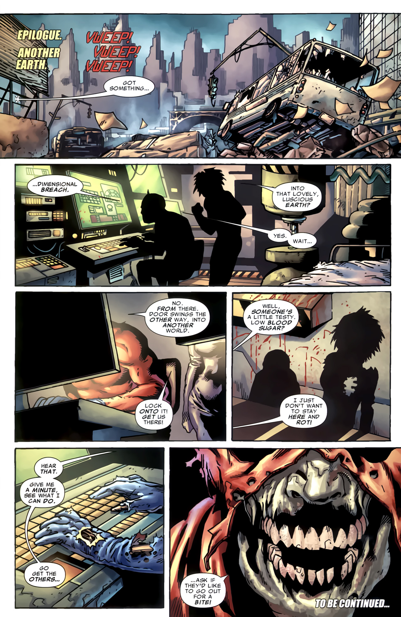 Read online Marvel Apes: Speedball Special comic -  Issue # Full - 33