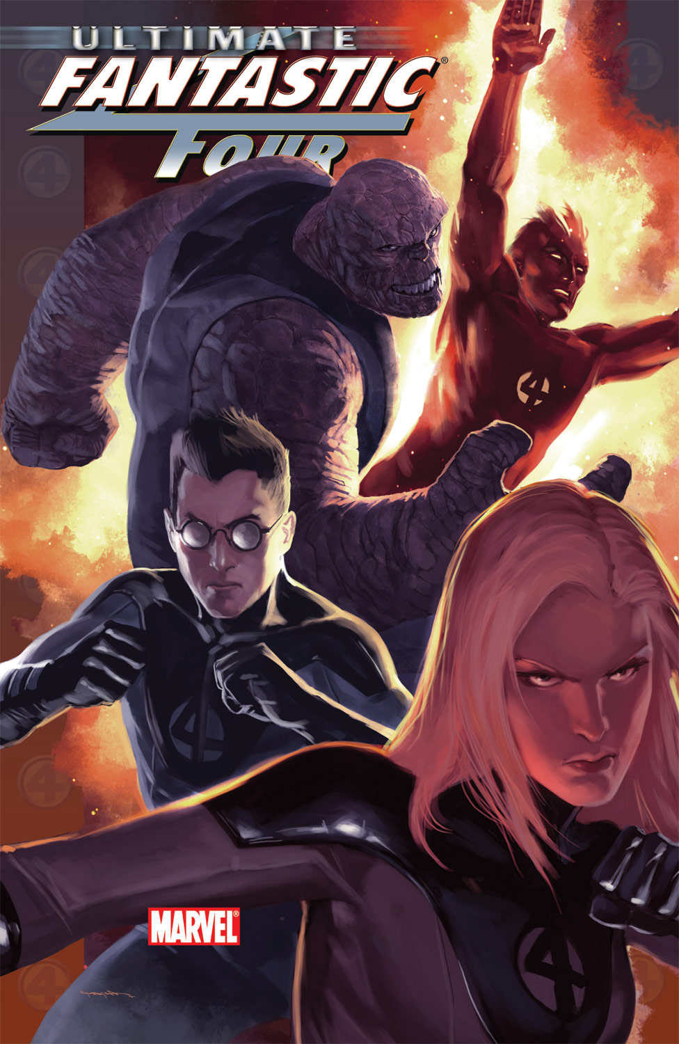 Read online Ultimate Fantastic Four (2004) comic -  Issue #50 - 1