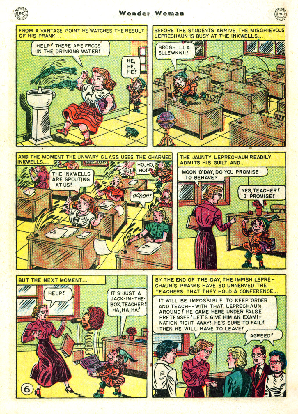 Read online Wonder Woman (1942) comic -  Issue #45 - 30