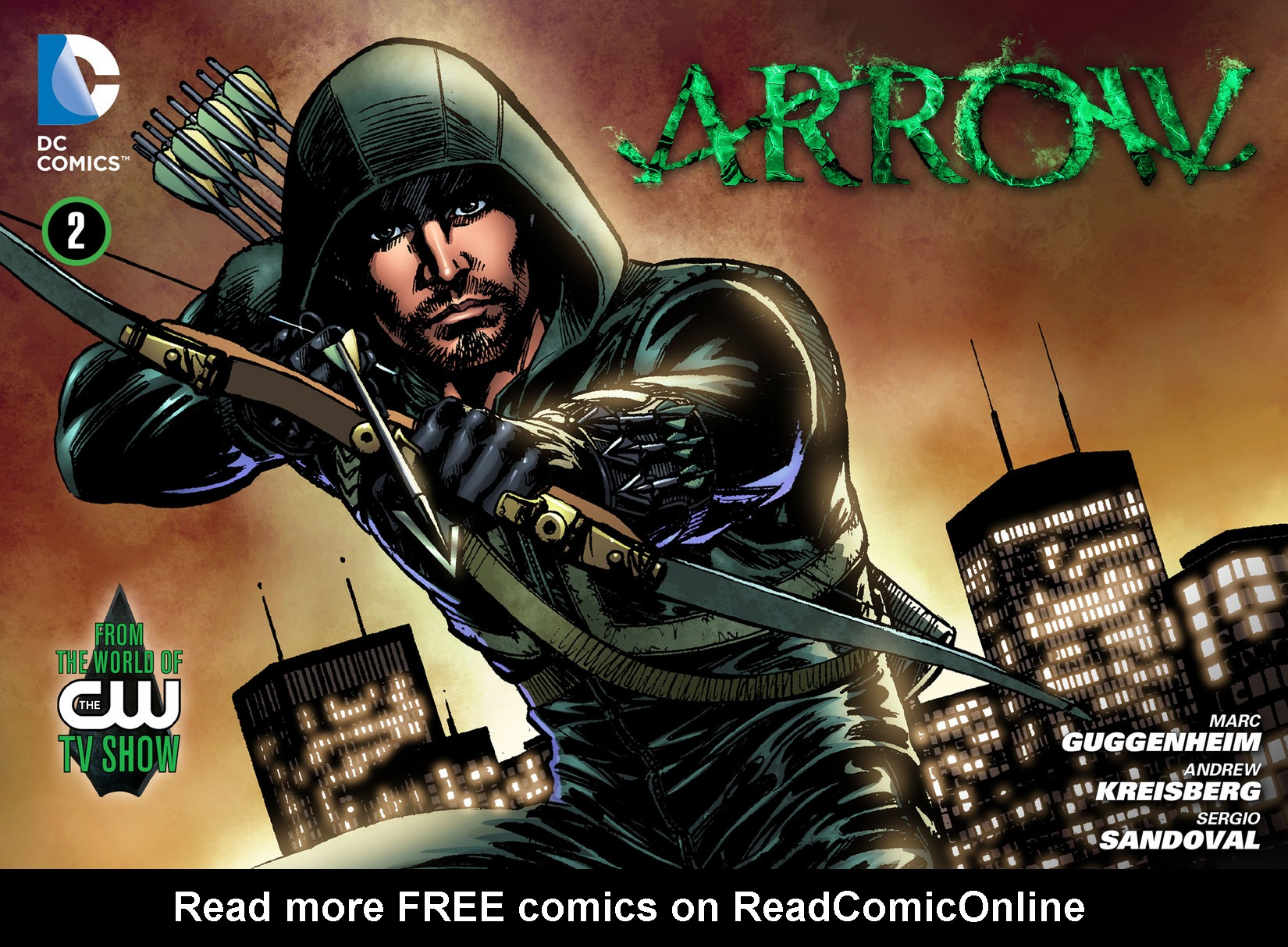 Read online Arrow [II] comic -  Issue #2 - 1