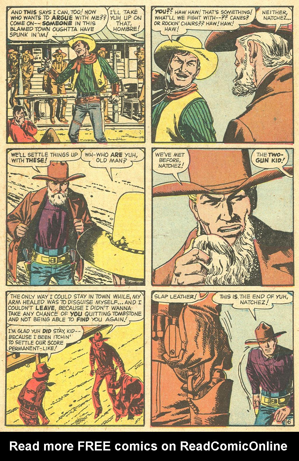 Read online Two-Gun Kid comic -  Issue #55 - 10