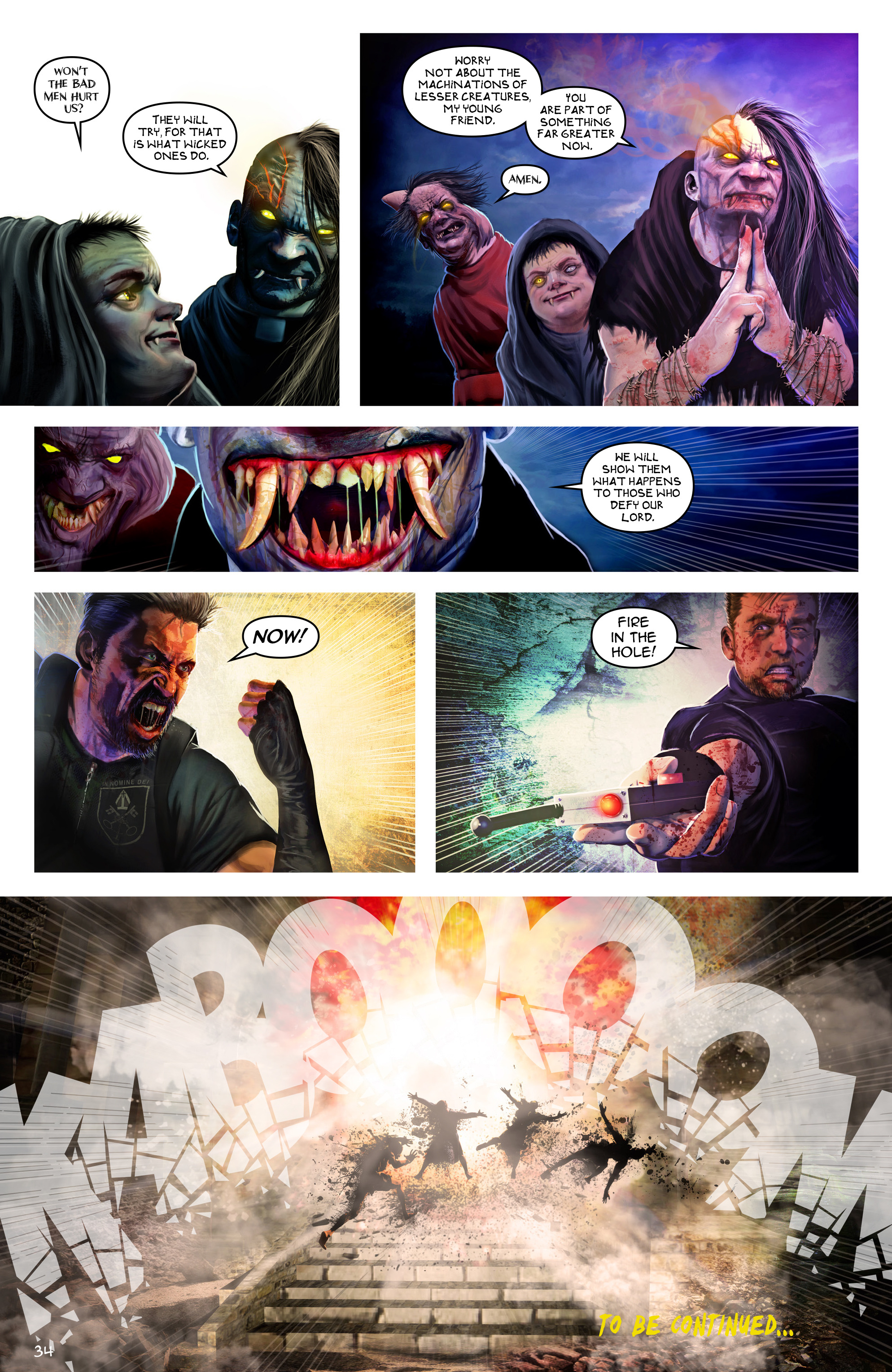 Read online Escape from Jesus Island comic -  Issue #3 - 34