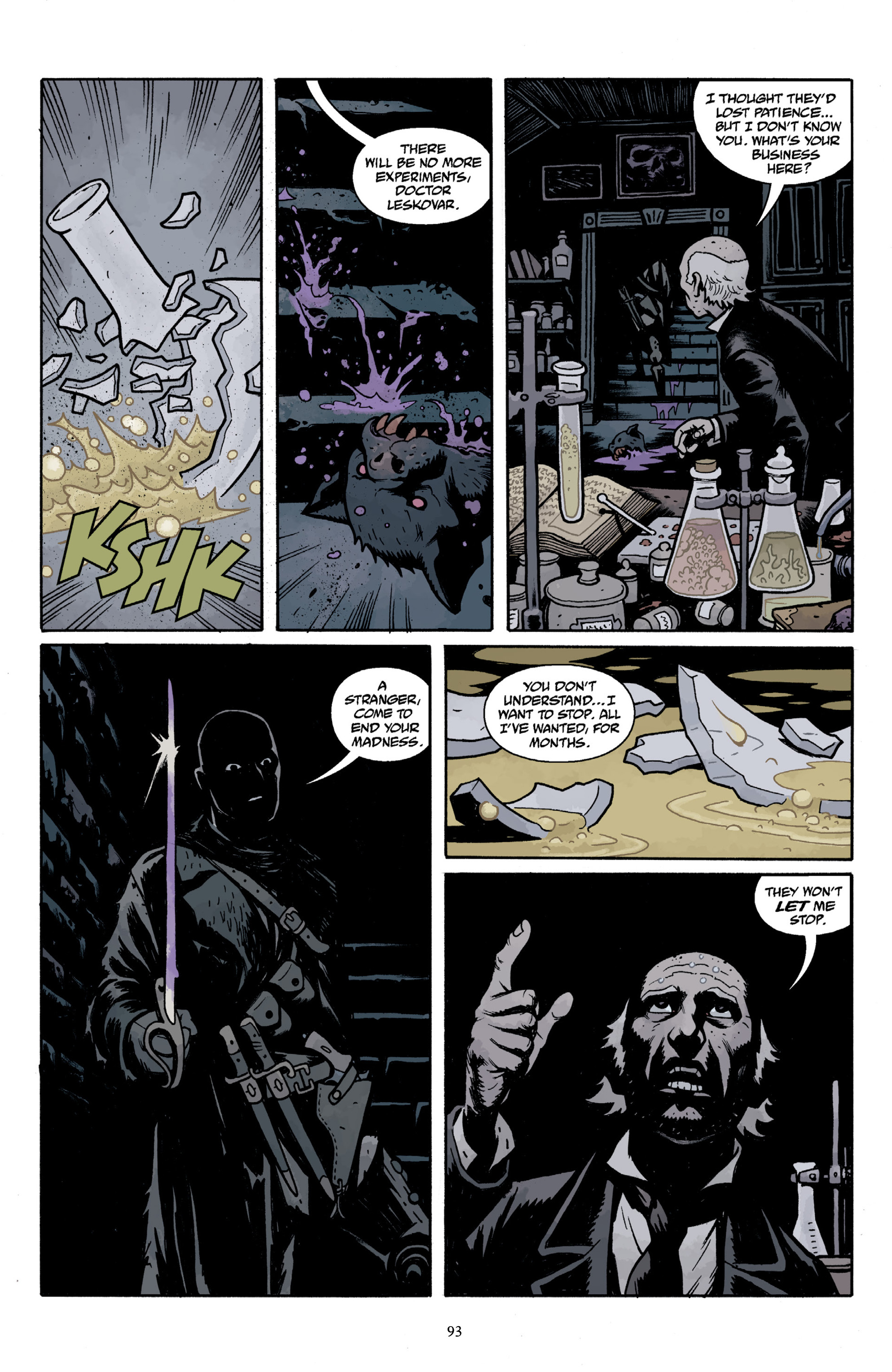 Read online Baltimore Volume 3: A Passing Stranger and Other Stories comic -  Issue # Full - 95