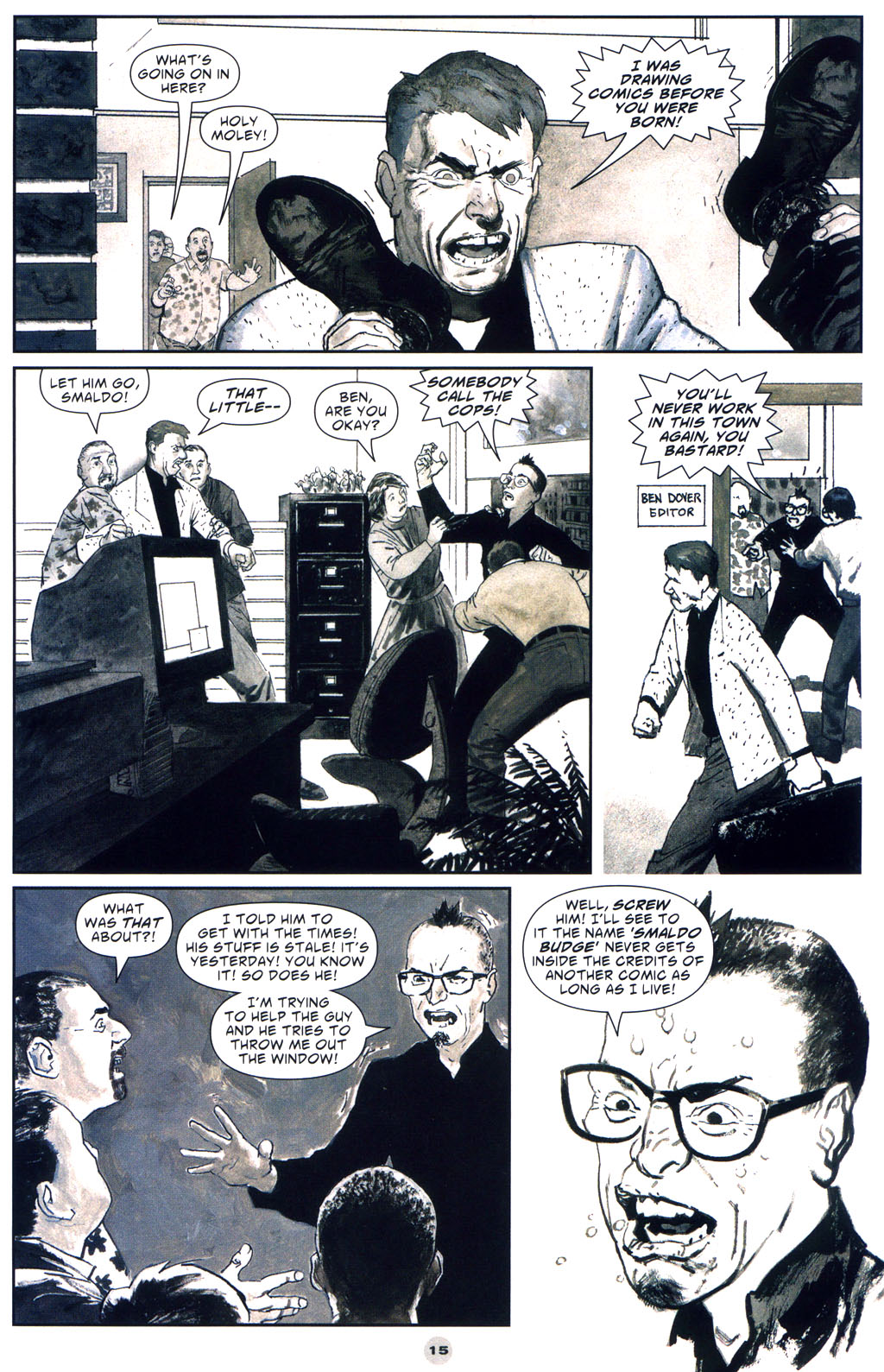 Read online Solo (2004) comic -  Issue #9 - 16
