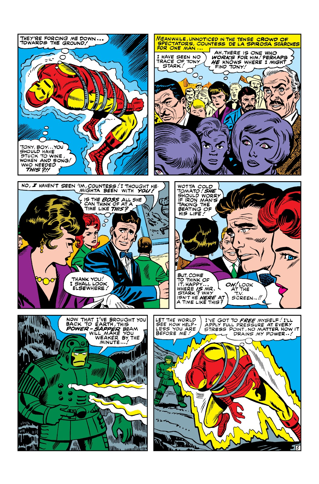 Read online Marvel Masterworks: The Invincible Iron Man comic -  Issue # TPB 3 (Part 1) - 100