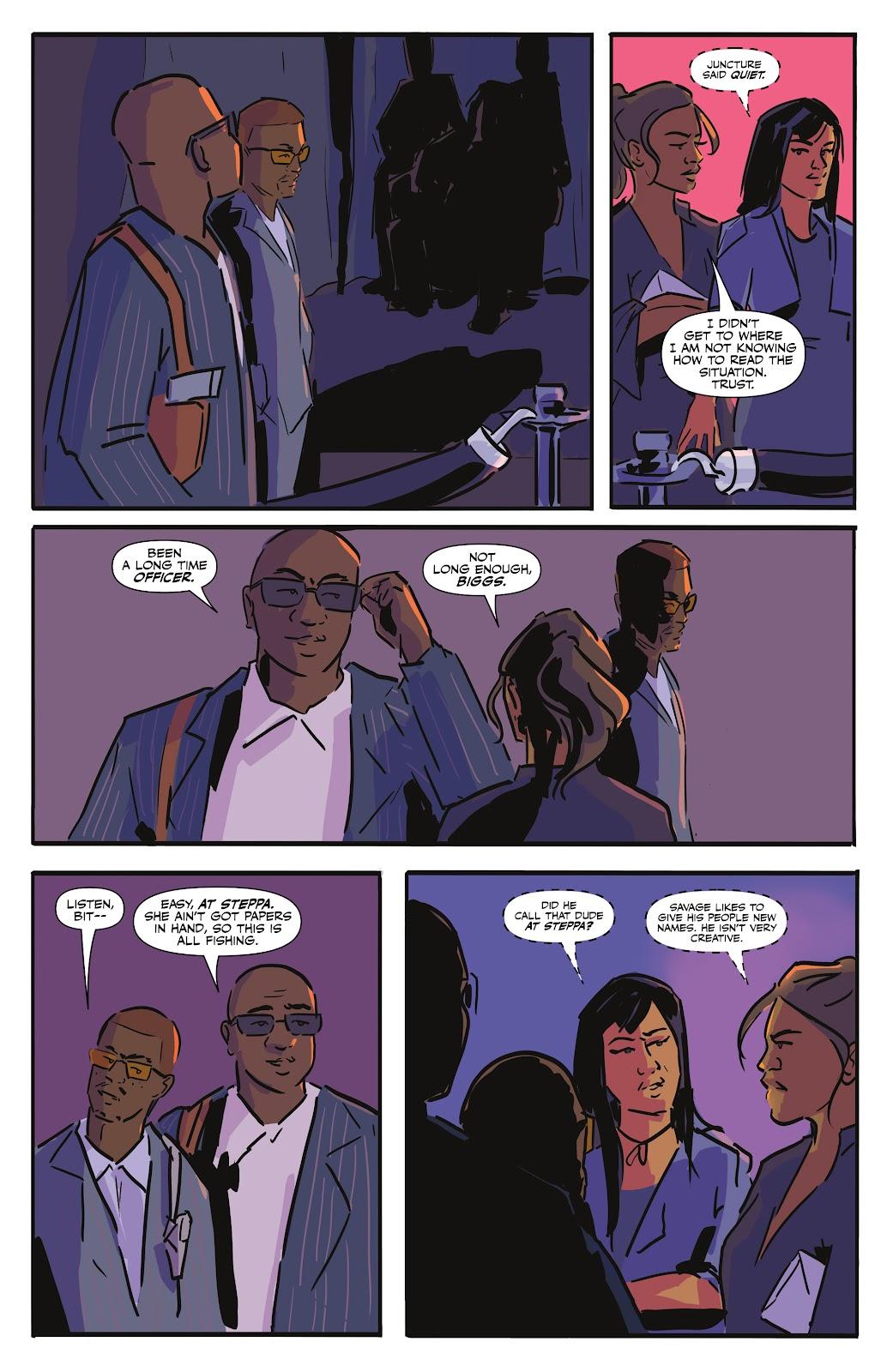Read online Black (AF): Devil's Dye comic -  Issue #2 - 5