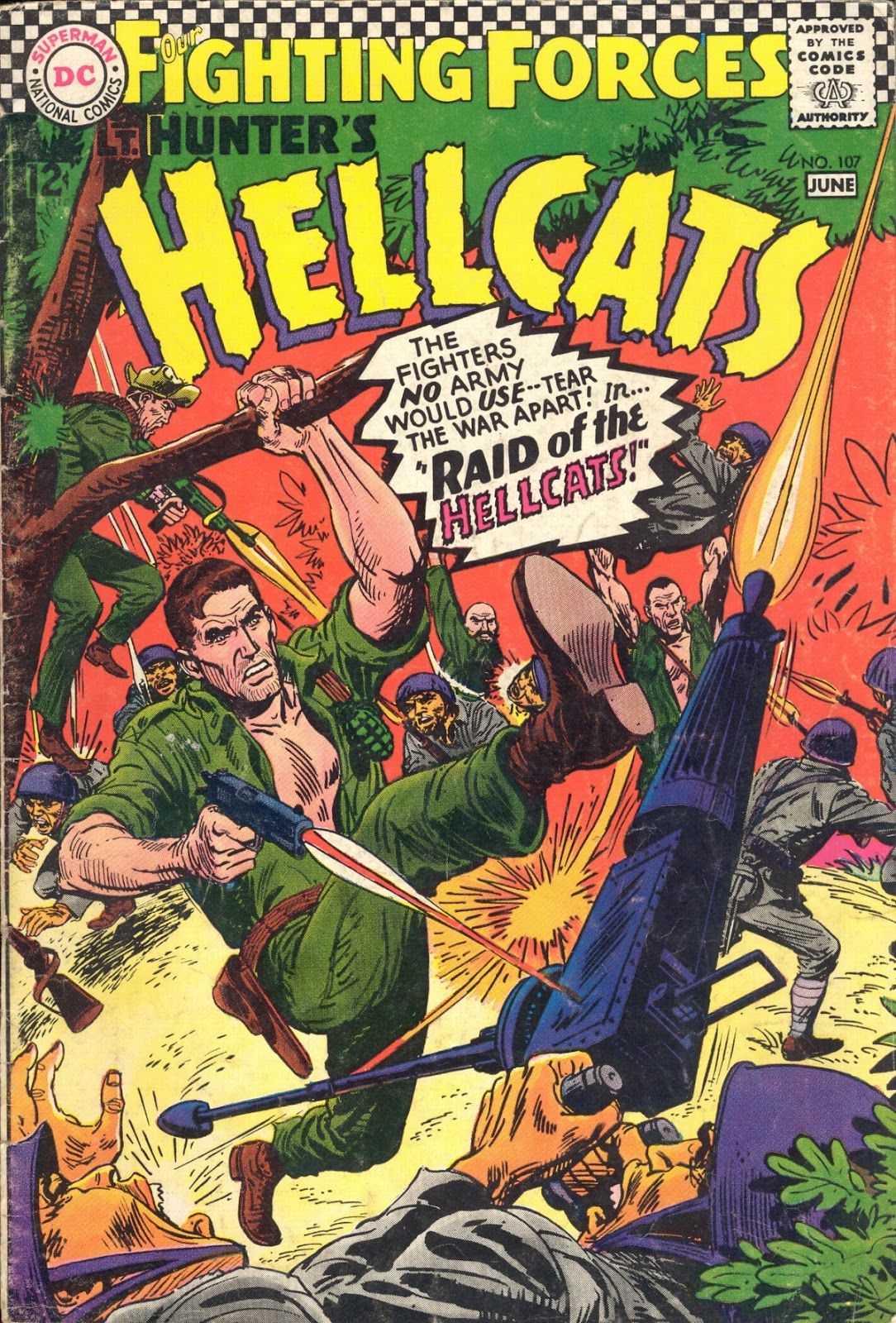 Our Fighting Forces (1954) issue 107 - Page 1