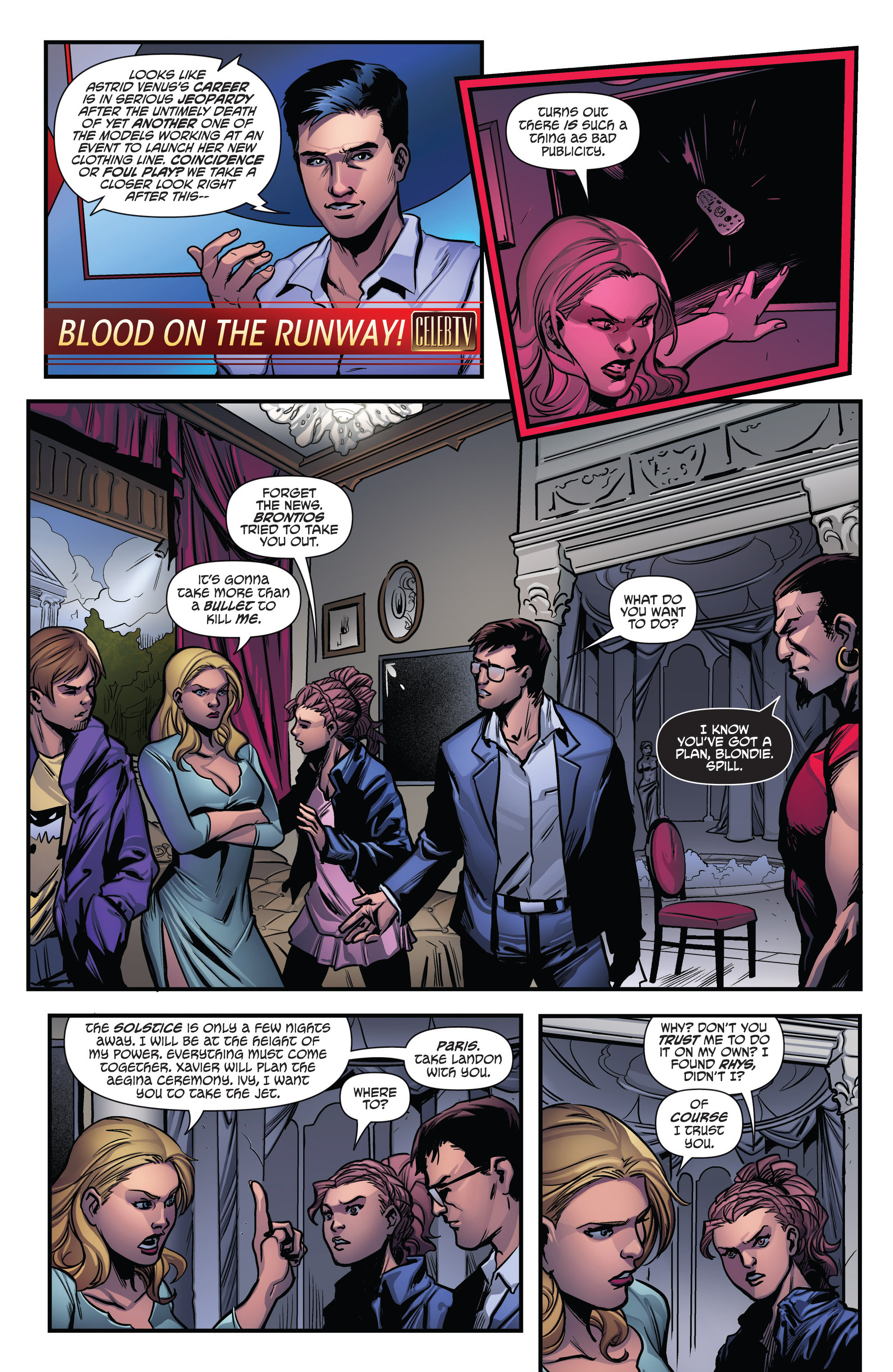 Read online Grimm Fairy Tales presents Goddess Inc. comic -  Issue #4 - 9