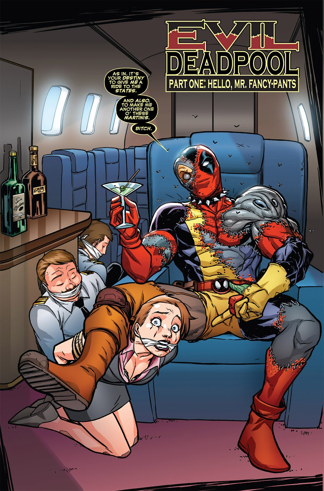 Read online Deadpool (2008) comic -  Issue #45 - 4