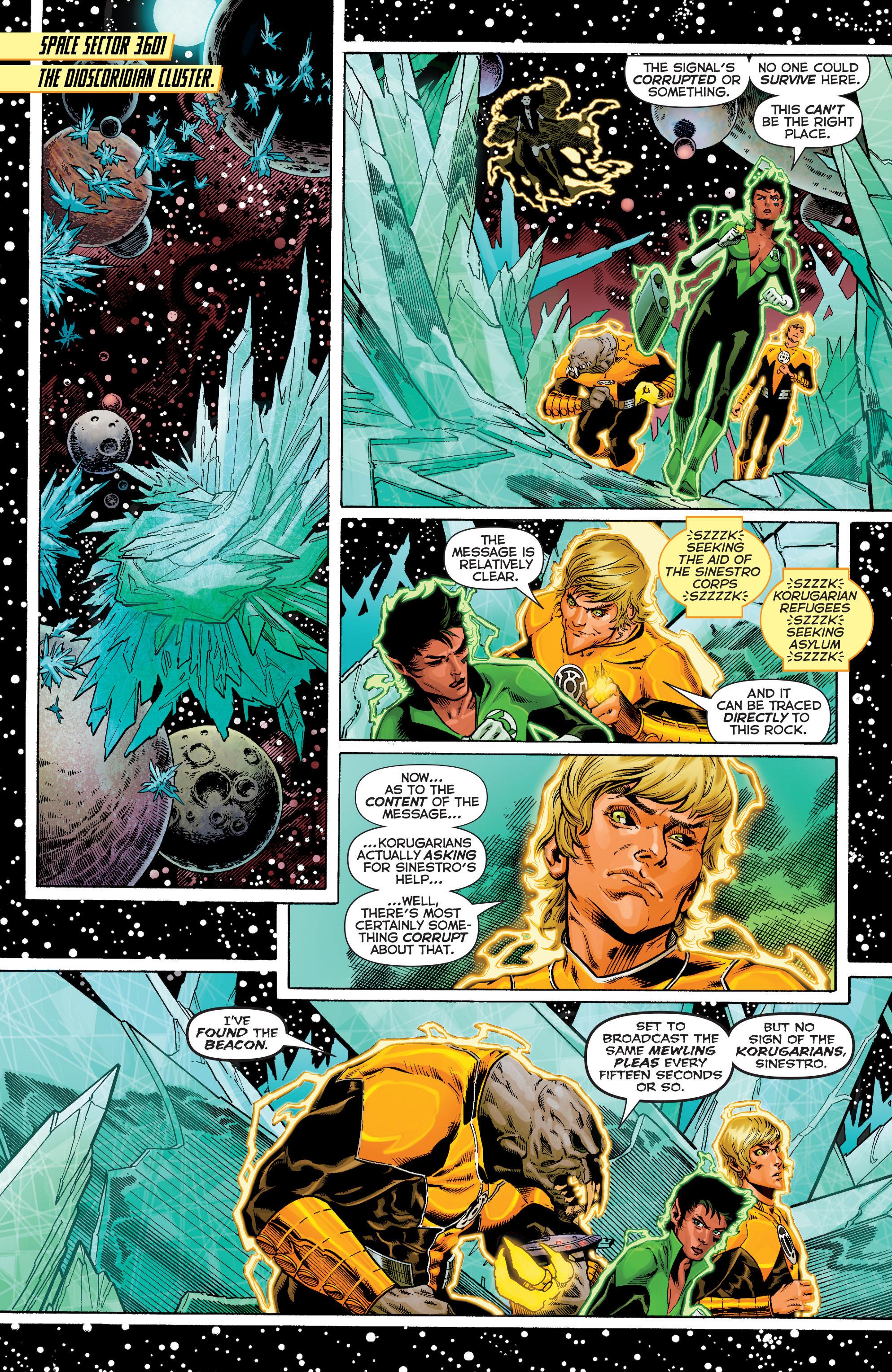 Read online Sinestro comic -  Issue #9 - 5