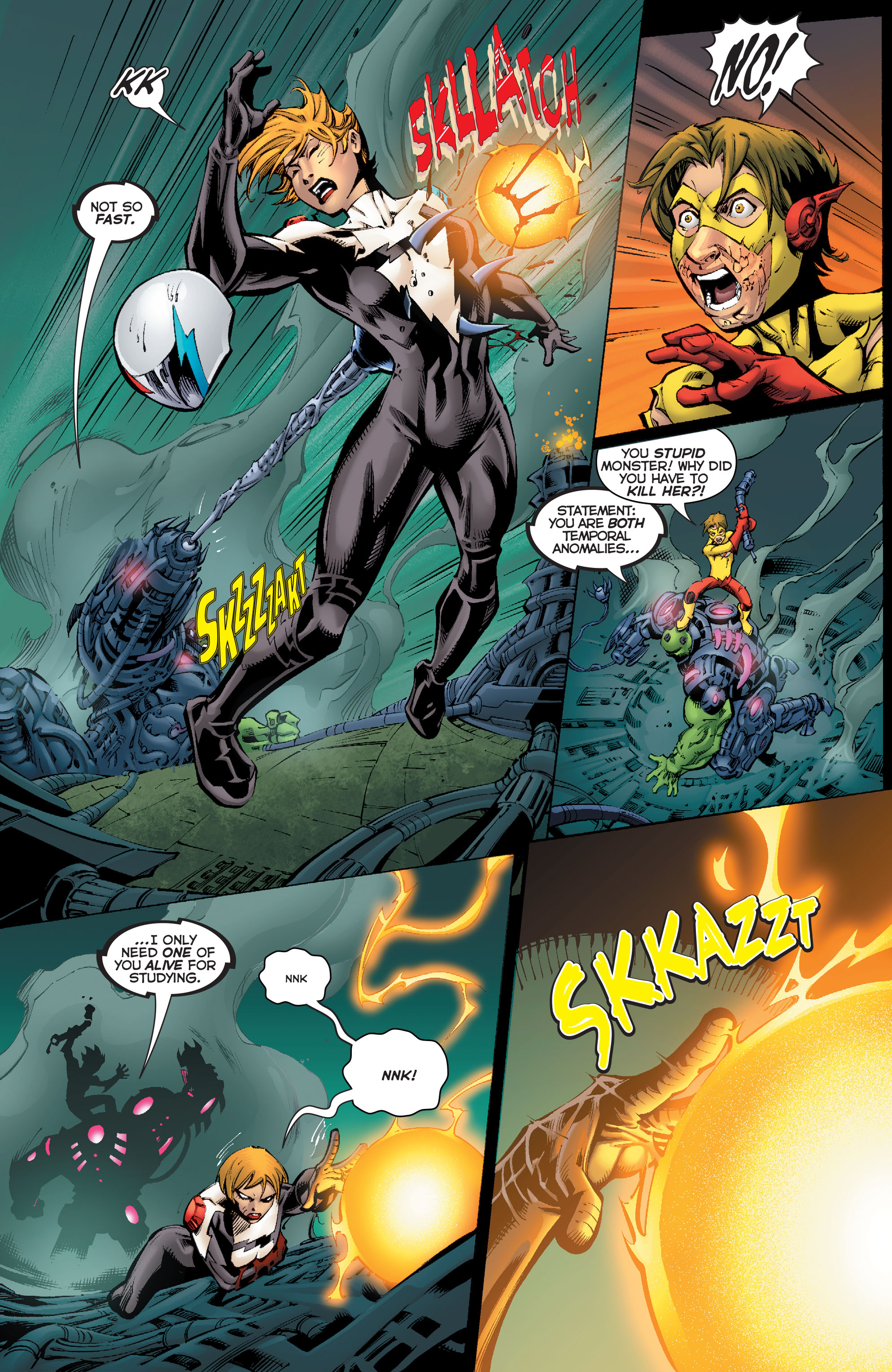 Read online Flashpoint: Kid Flash Lost comic -  Issue #2 - 17