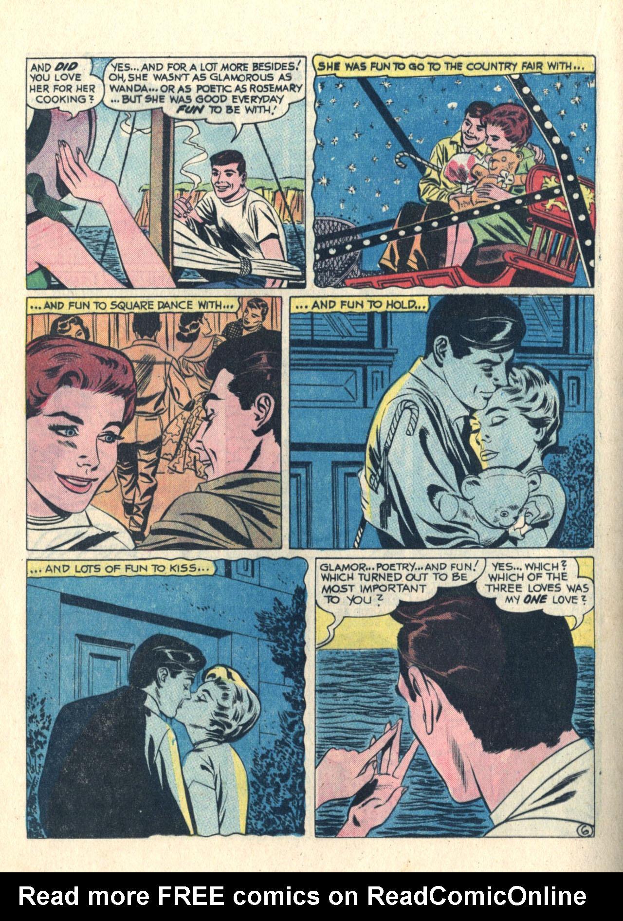 Read online Secret Hearts comic -  Issue #113 - 16