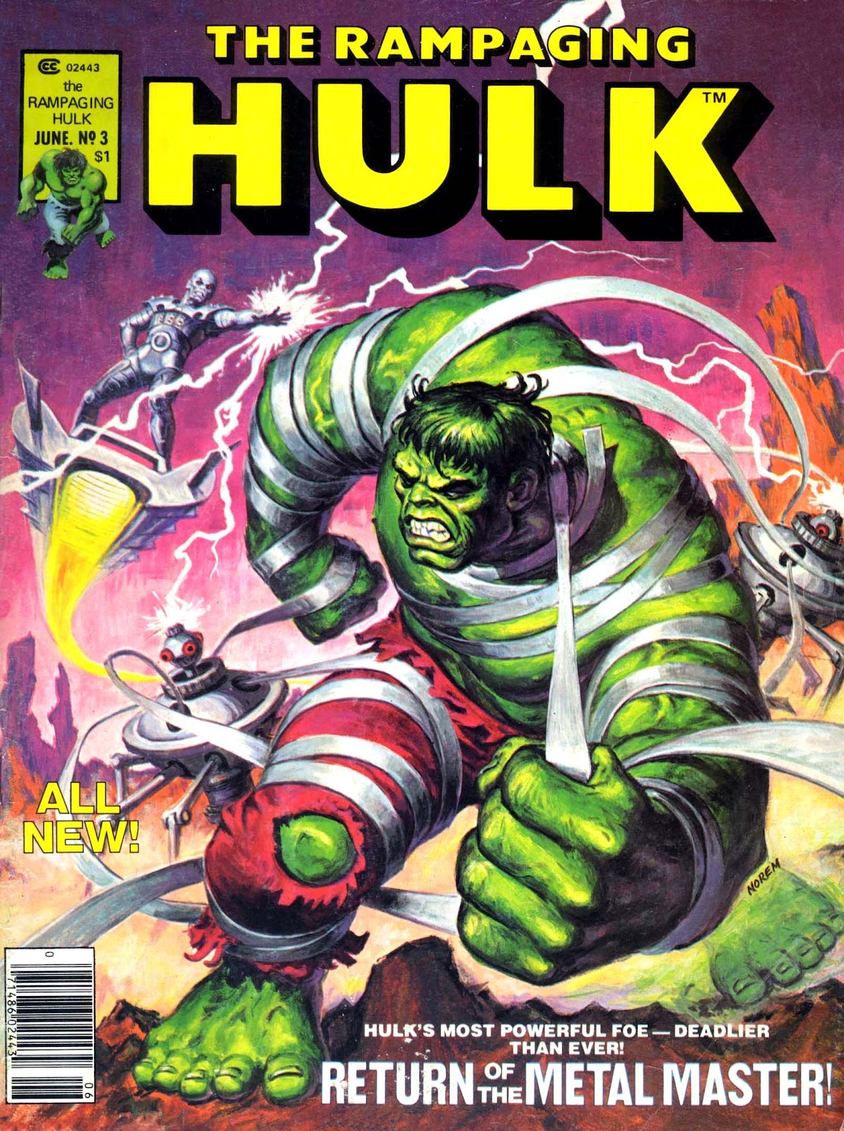 The Rampaging Hulk (1977) issue 3 - Page 1