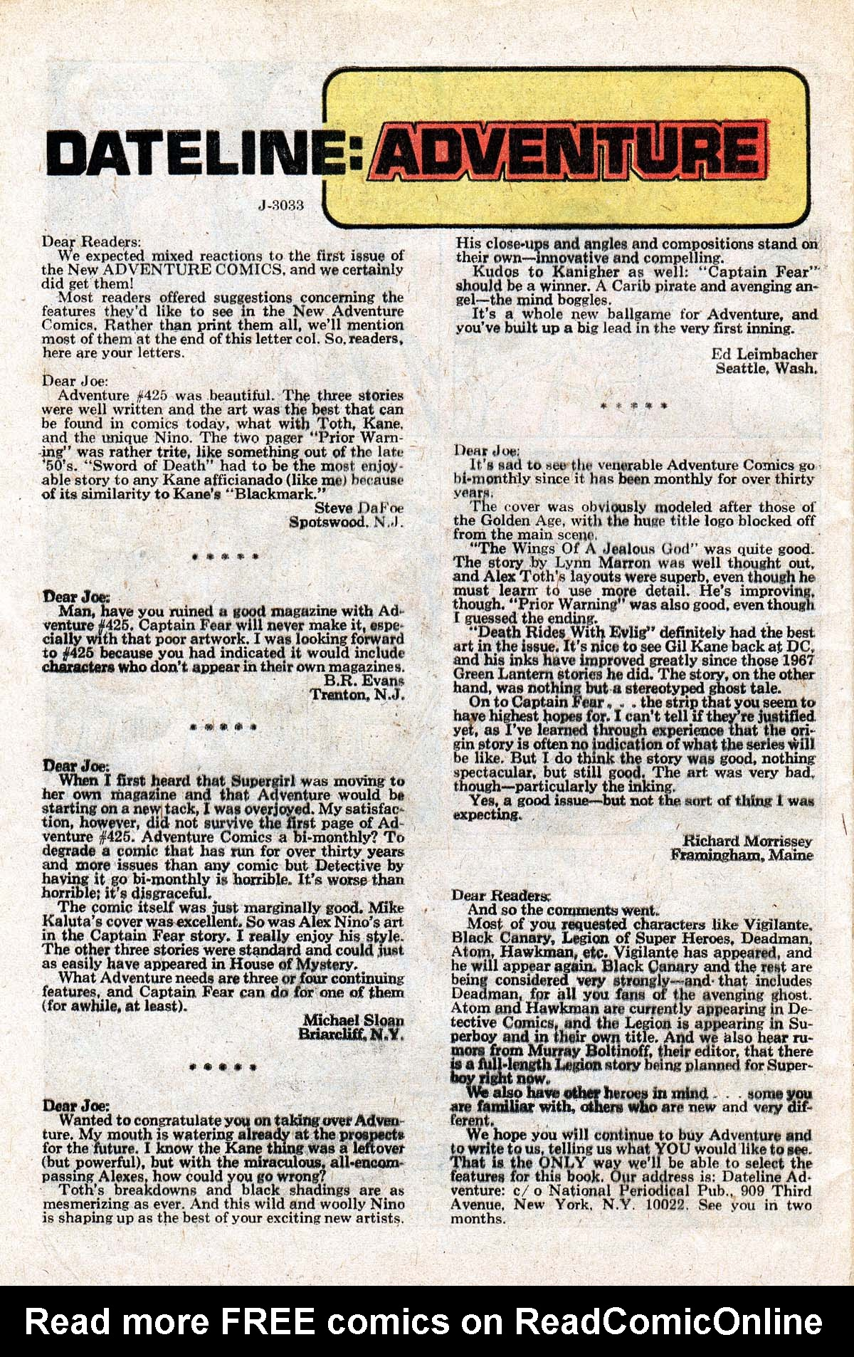 Read online Adventure Comics (1938) comic -  Issue #427 - 32