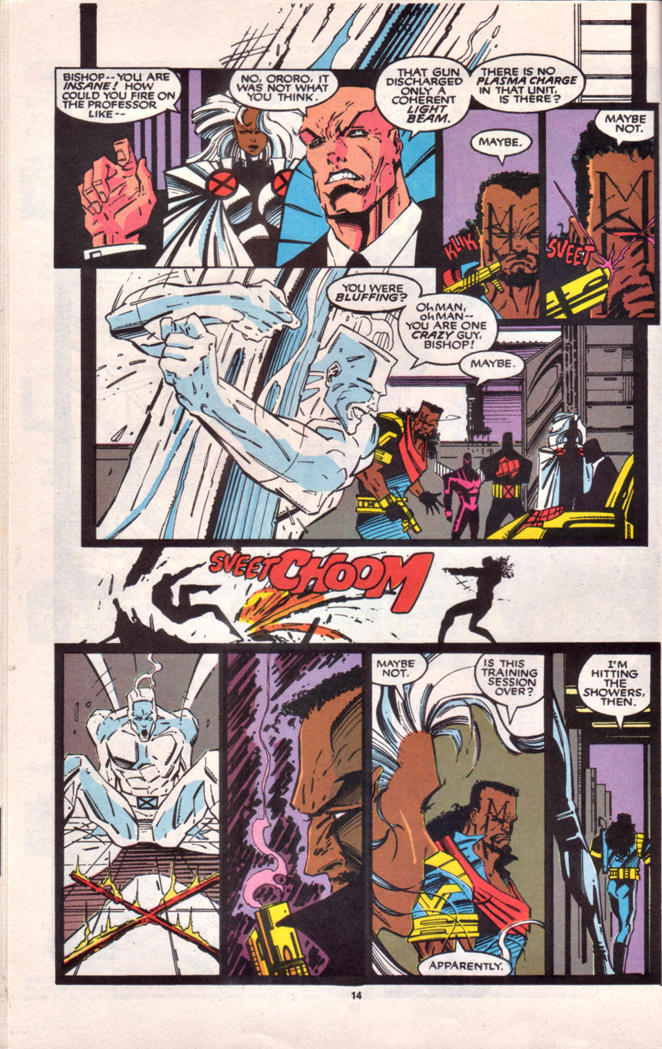 Read online Uncanny X-Men (1963) comic -  Issue # _Annual 16 - 12