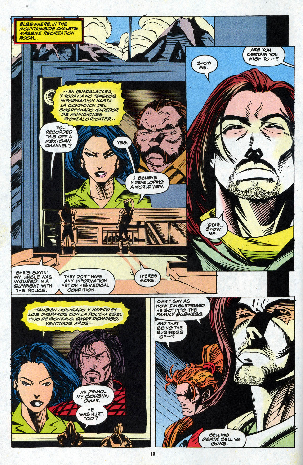 Read online X-Force (1991) comic -  Issue #34 - 11