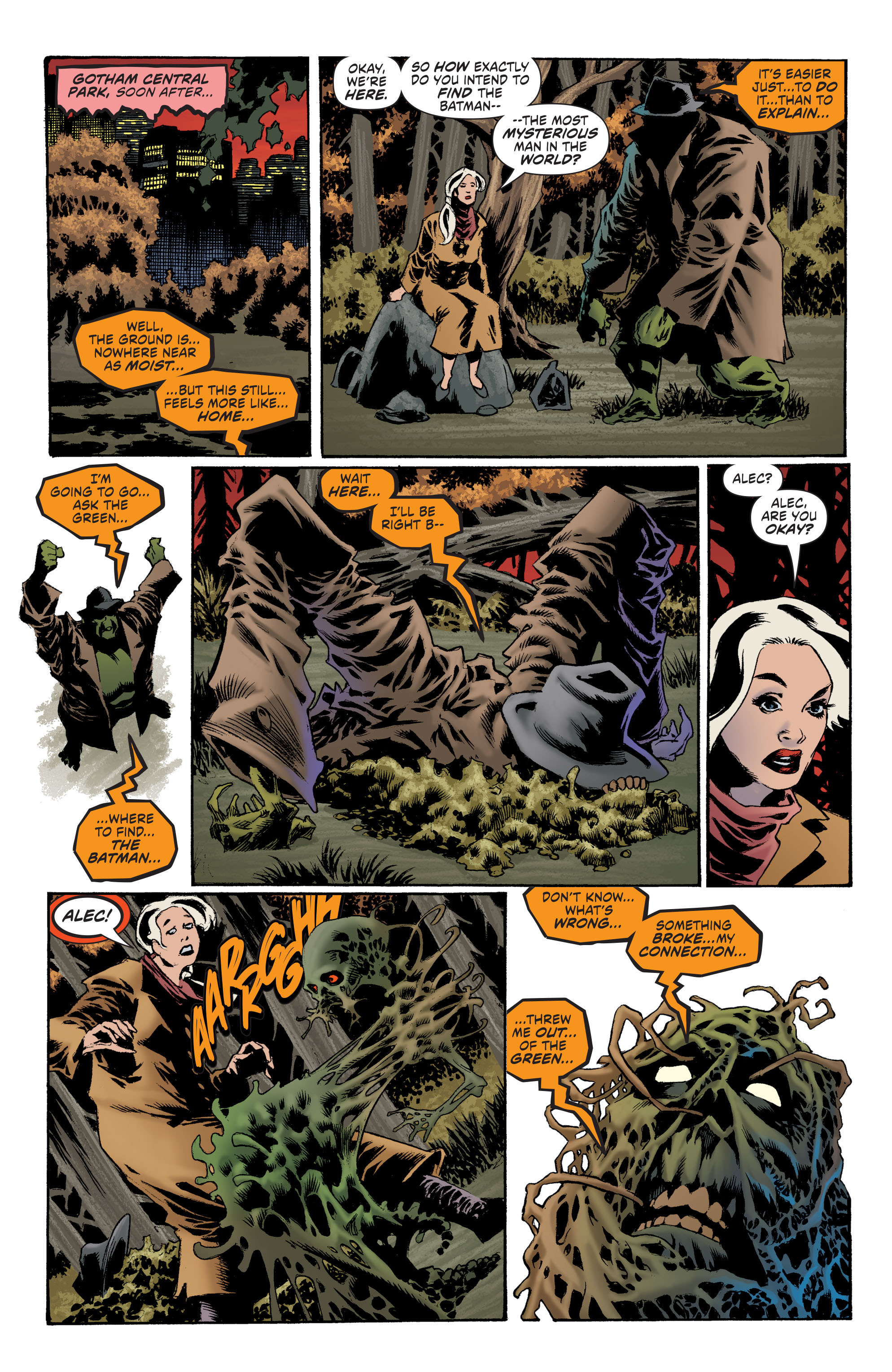 Read online Convergence Swamp Thing comic -  Issue #1 - 11