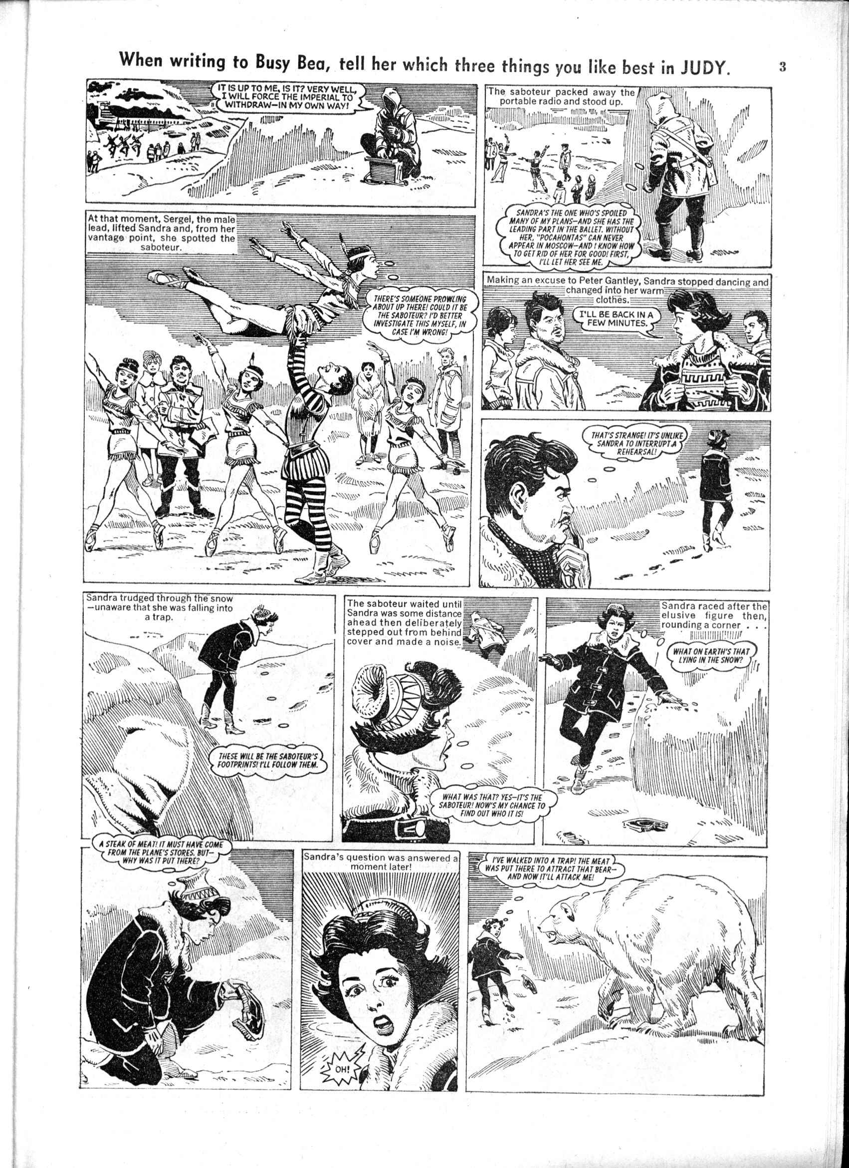 Read online Judy comic -  Issue #166 - 3