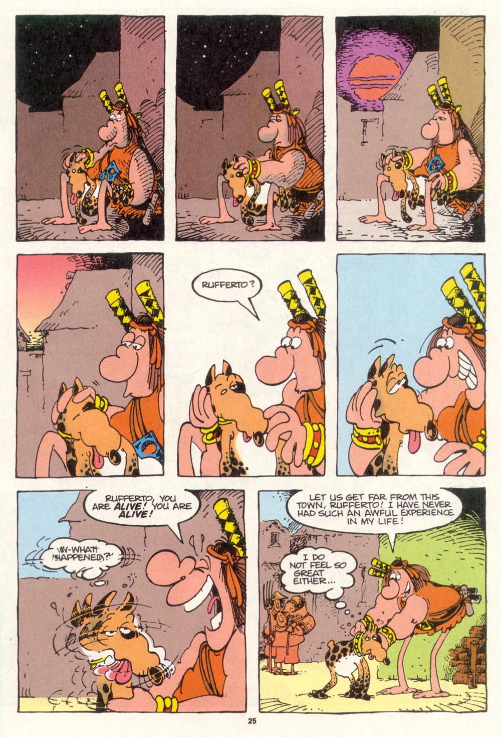 Read online Sergio Aragonés Groo the Wanderer comic -  Issue #112 - 27