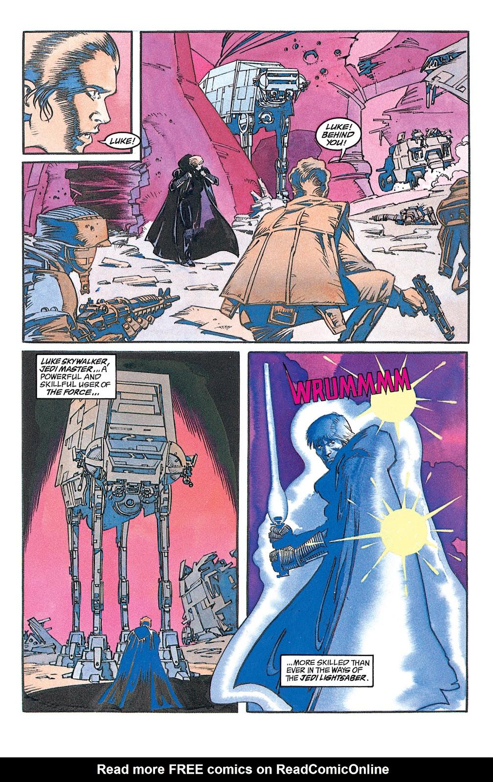 Read online Star Wars: Dark Empire Trilogy comic -  Issue # TPB (Part 1) - 21