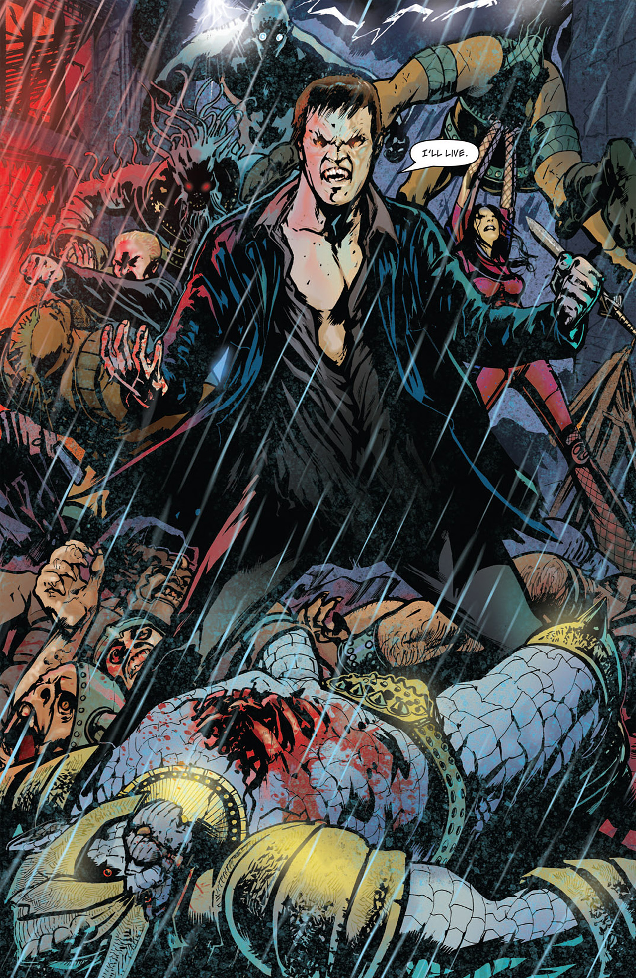 Read online Angel: After The Fall comic -  Issue #16 - 16