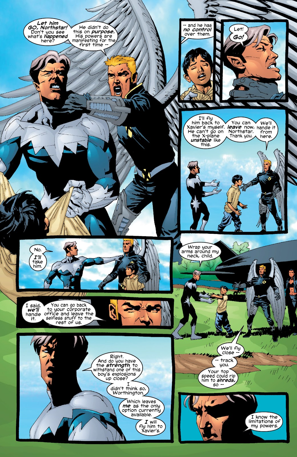 Read online X-Men: Unstoppable comic -  Issue # TPB (Part 2) - 11