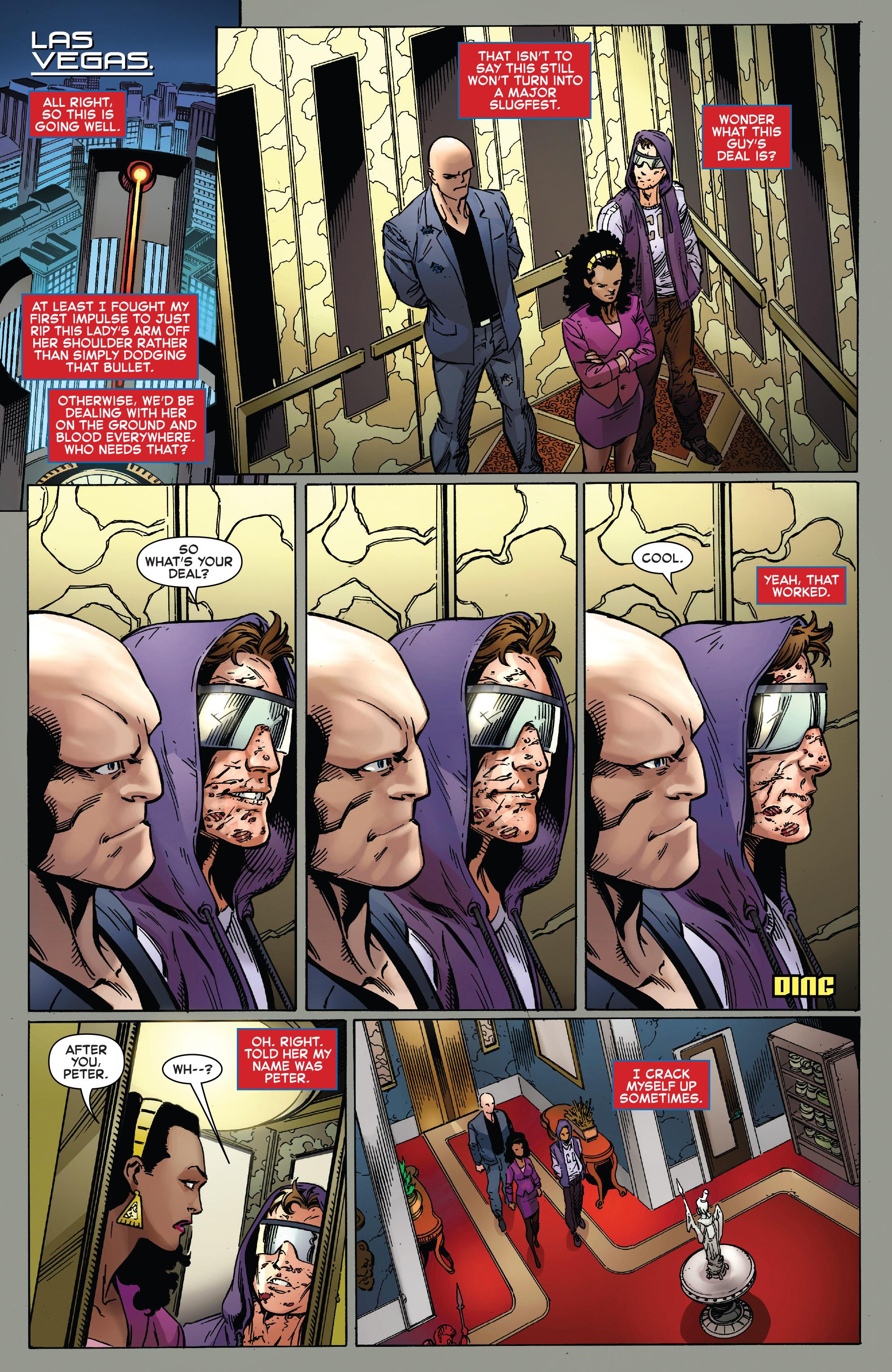 Read online Ben Reilly: Scarlet Spider comic -  Issue #2 - 10