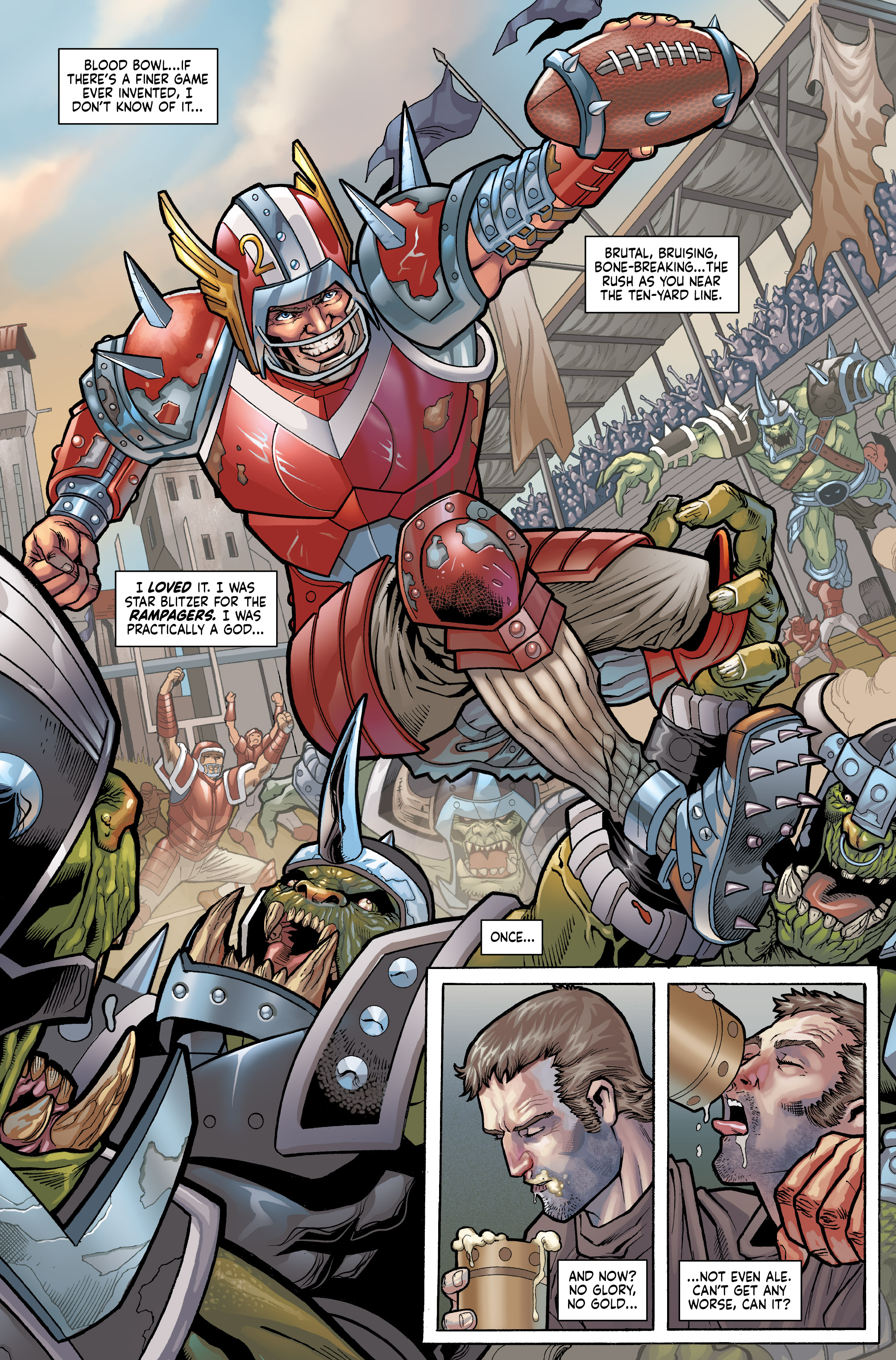Read online Blood Bowl: More Guts, More Glory! comic -  Issue #1 - 7