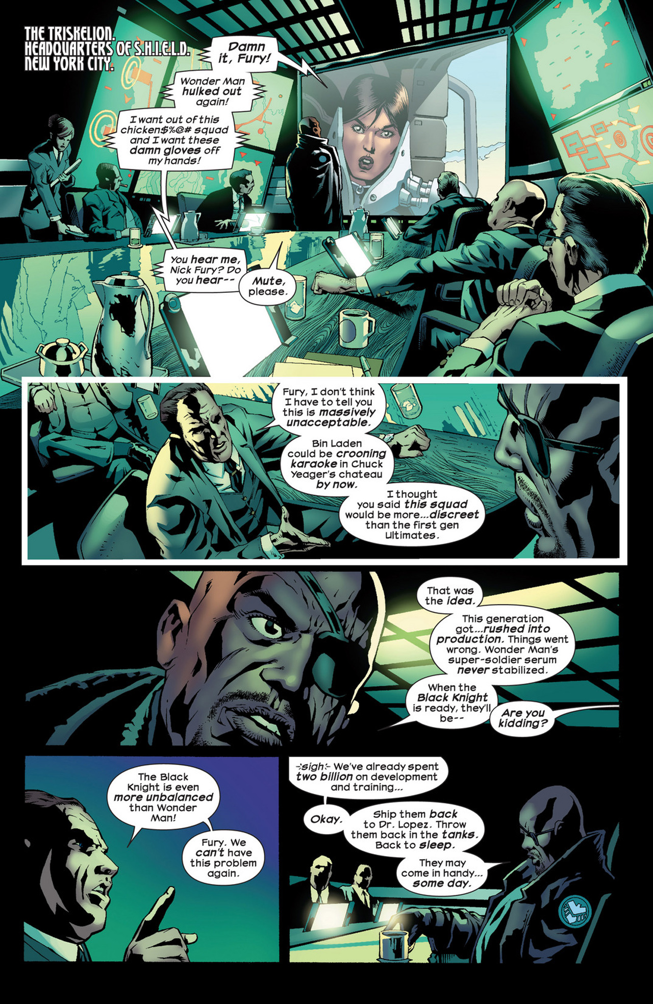 Read online Ultimate Comics Ultimates comic -  Issue #22 - 9