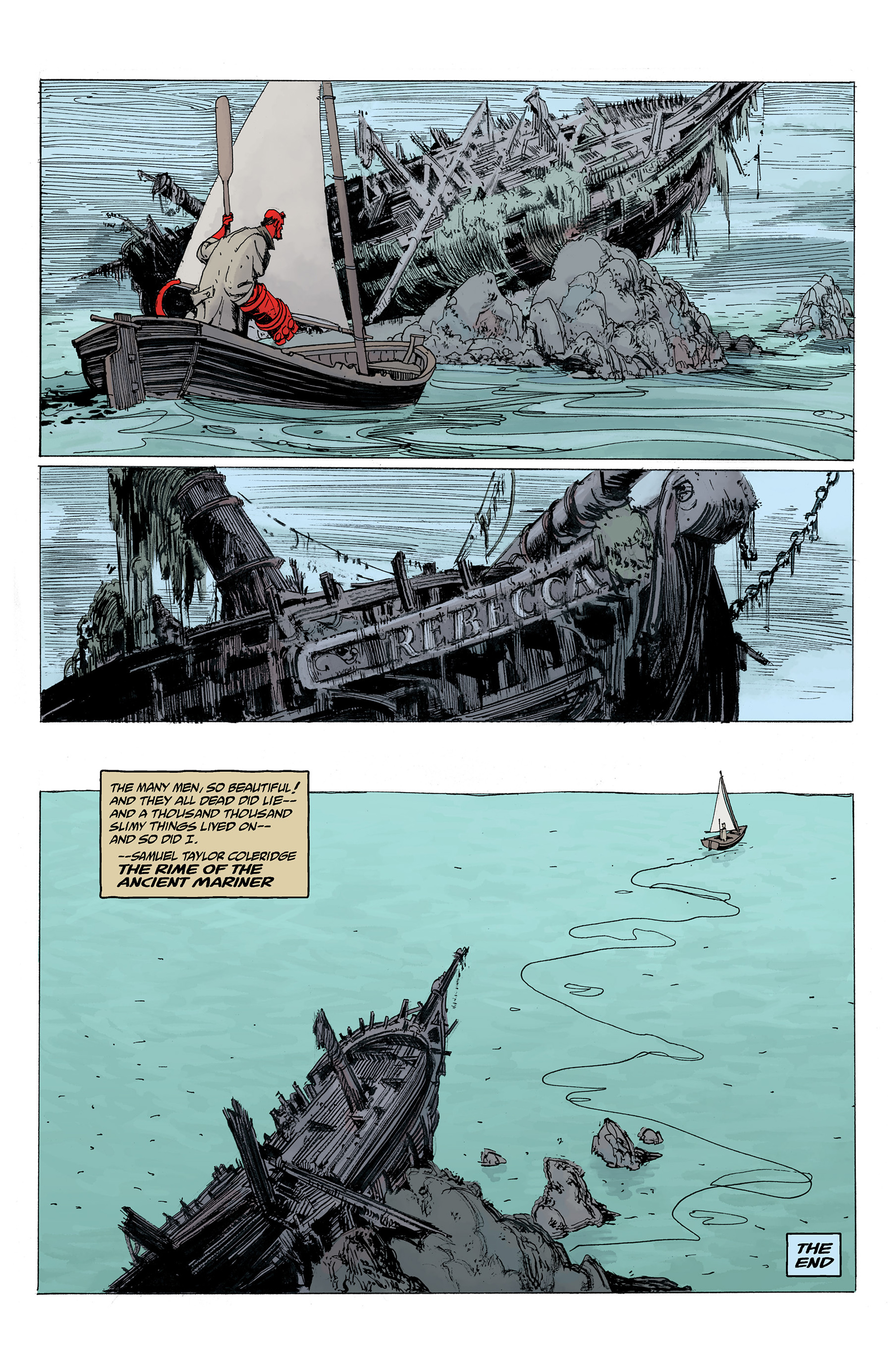 Read online Hellboy: Into the Silent Sea comic -  Issue # Full - 57