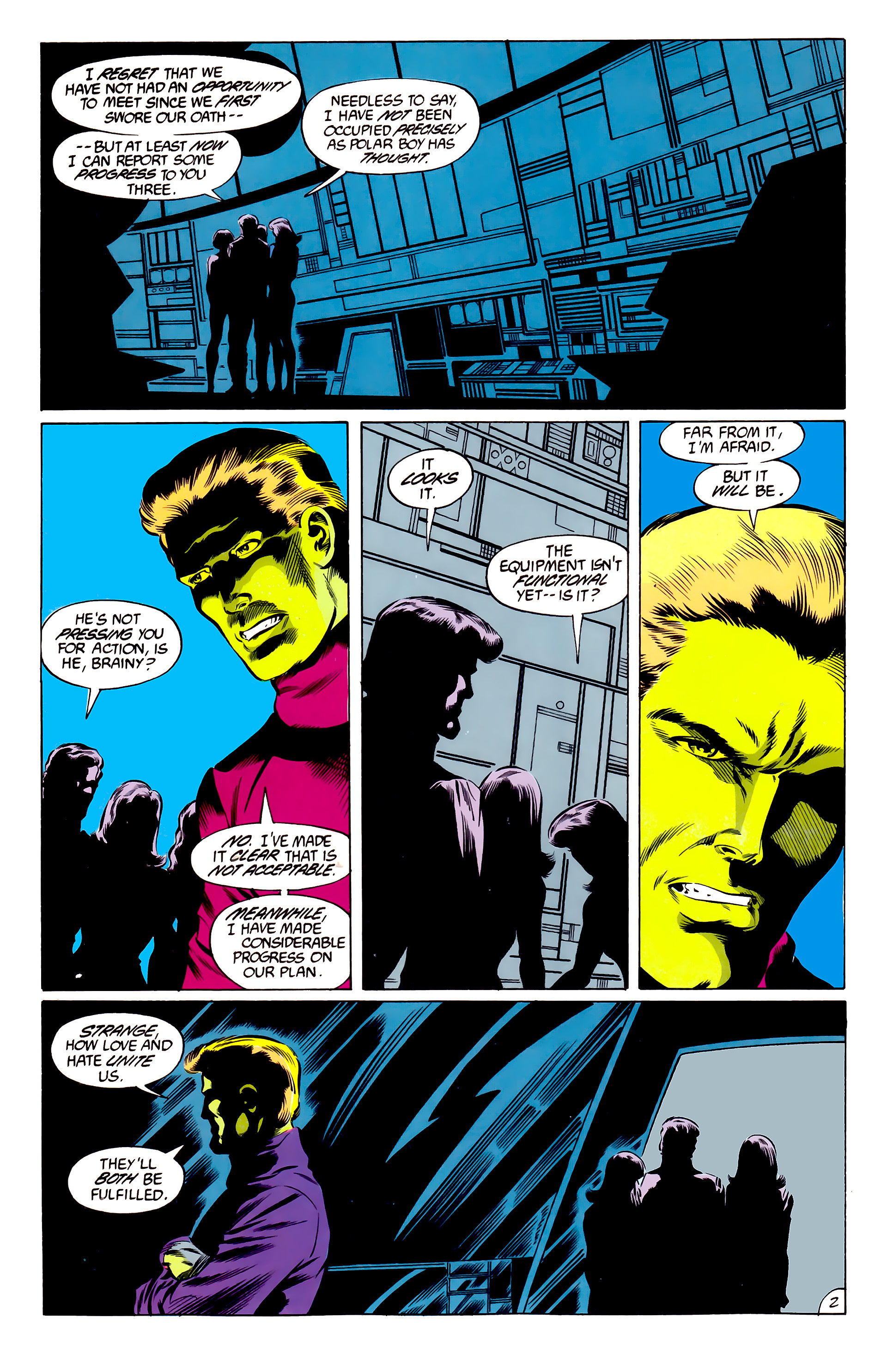 Legion of Super-Heroes (1984) 46 Page 2