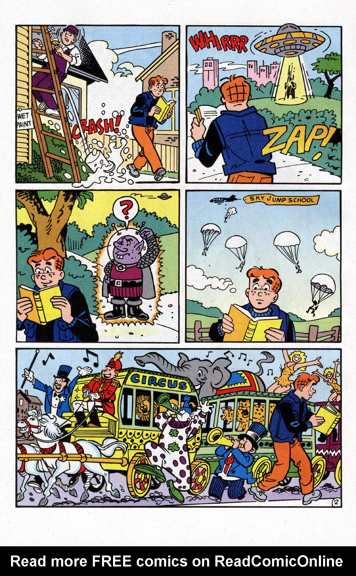Read online Archie (1960) comic -  Issue #528 - 16
