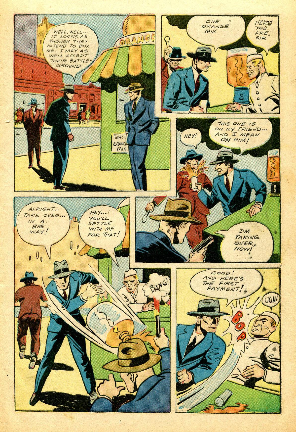 Read online Shadow Comics comic -  Issue #51 - 10