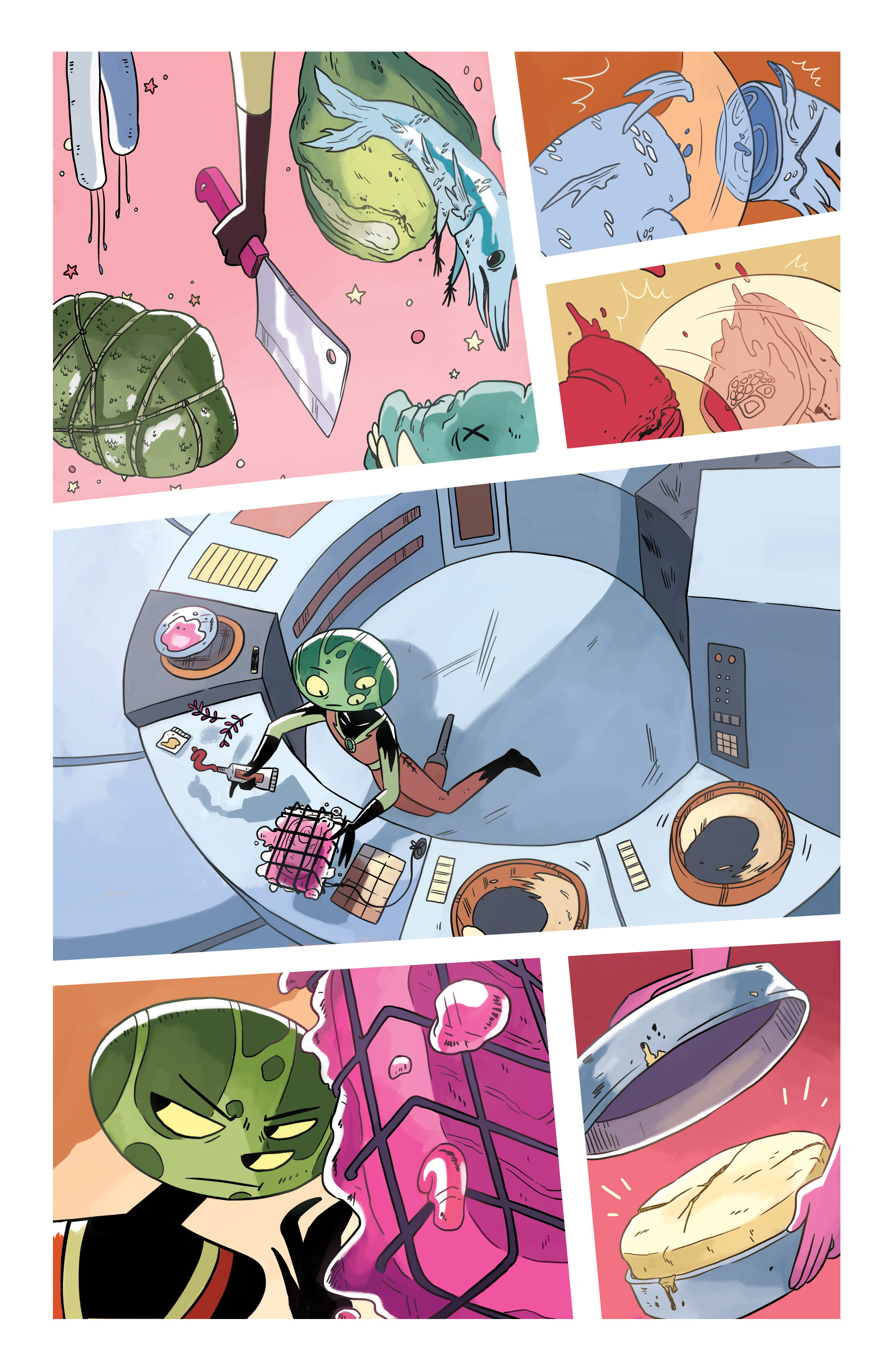 Read online Space Battle Lunchtime comic -  Issue #8 - 11