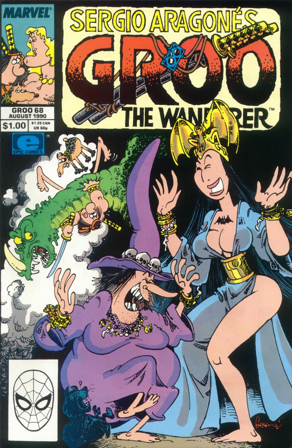 Read online Sergio Aragonés Groo the Wanderer comic -  Issue #68 - 1