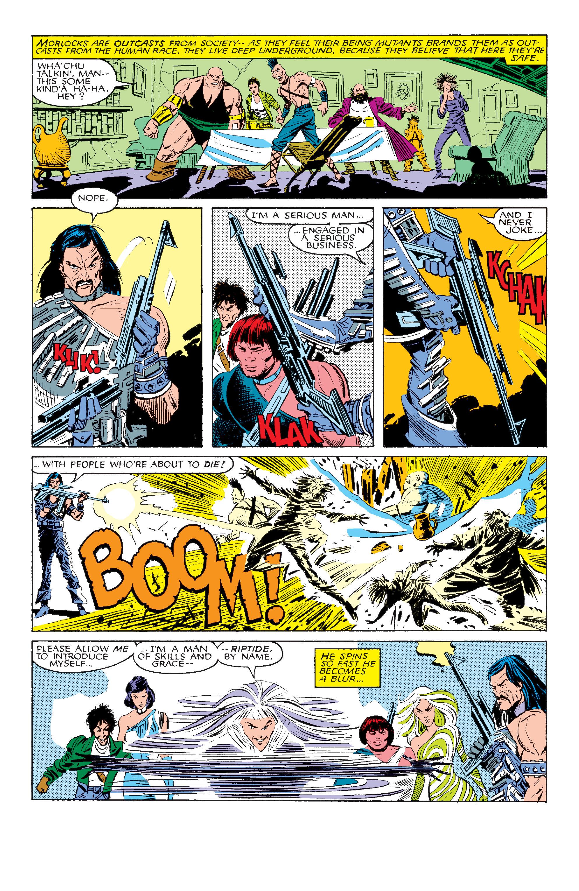 Read online Uncanny X-Men (1963) comic -  Issue #211 - 3