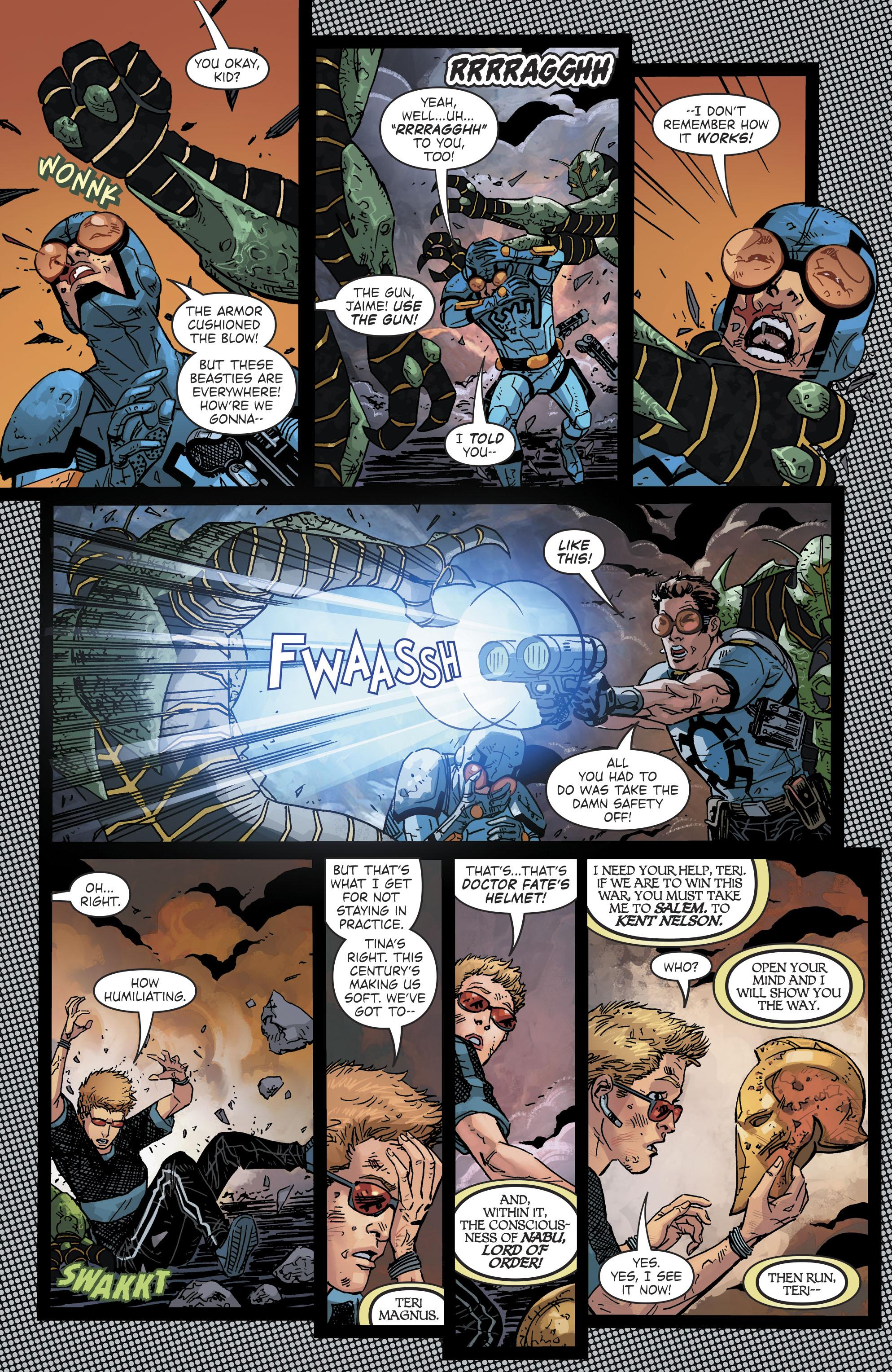 Read online Blue Beetle (2016) comic -  Issue #9 - 17