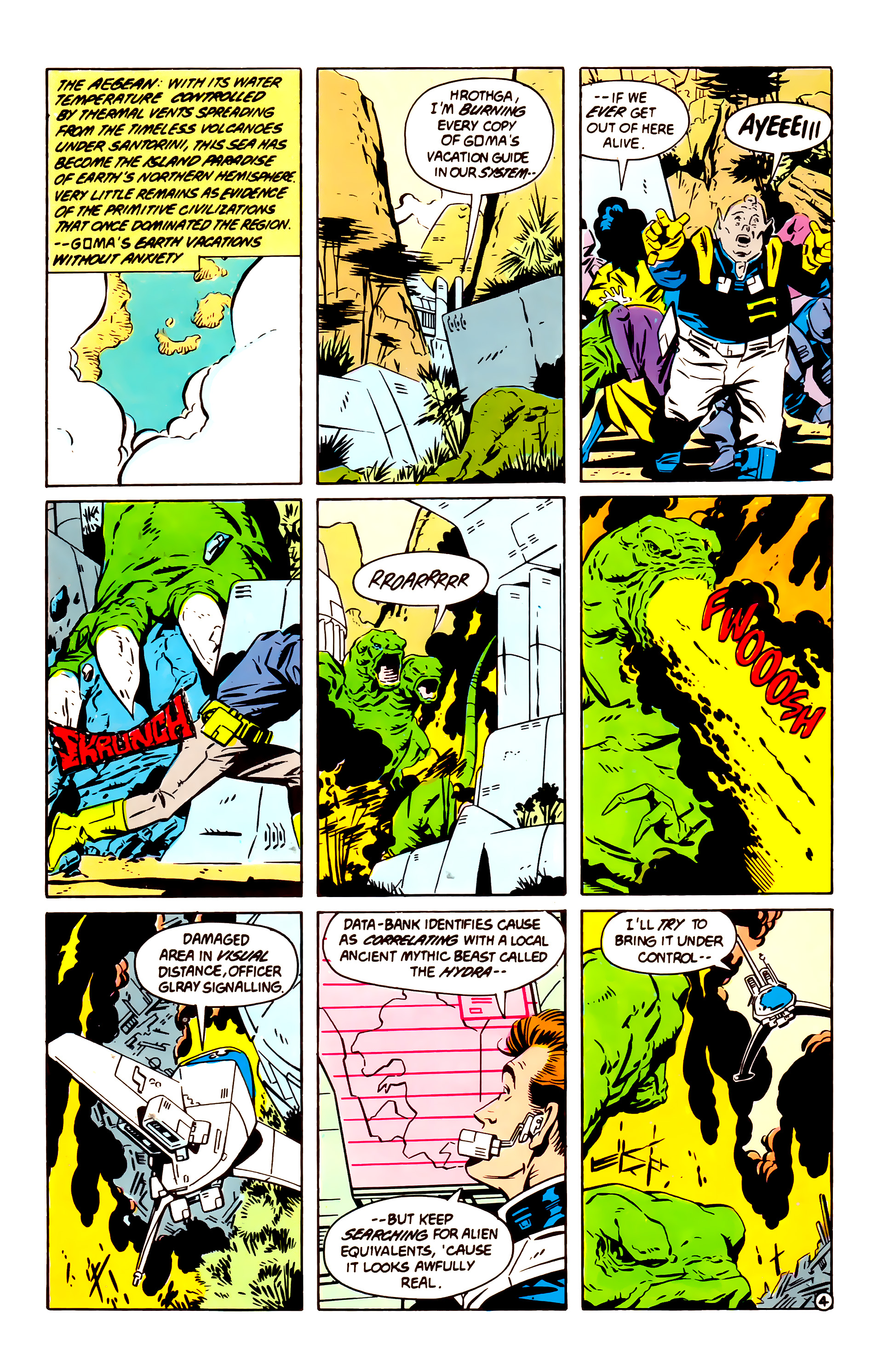 Legion of Super-Heroes (1984) 60 Page 4