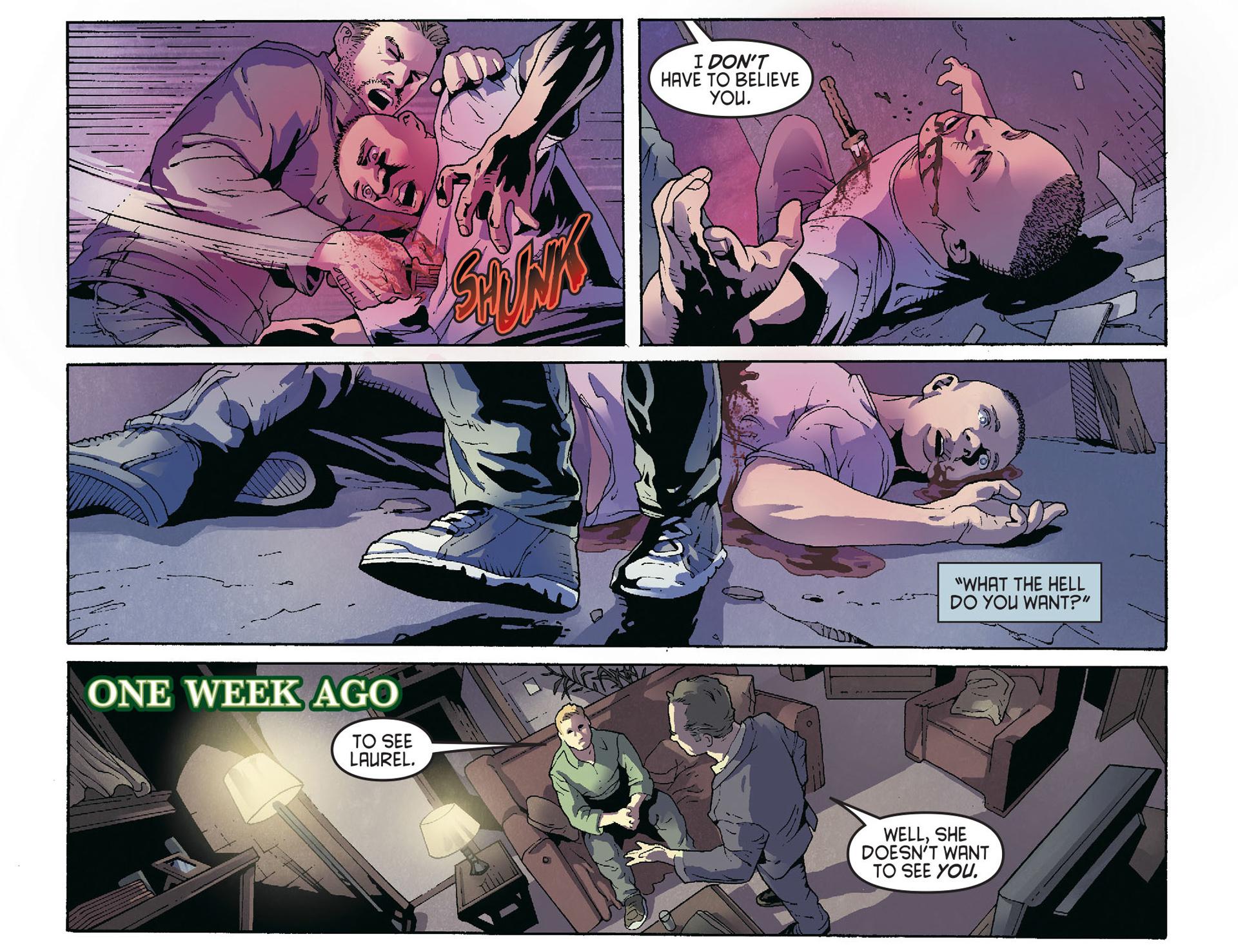 Read online Arrow [II] comic -  Issue #36 - 5