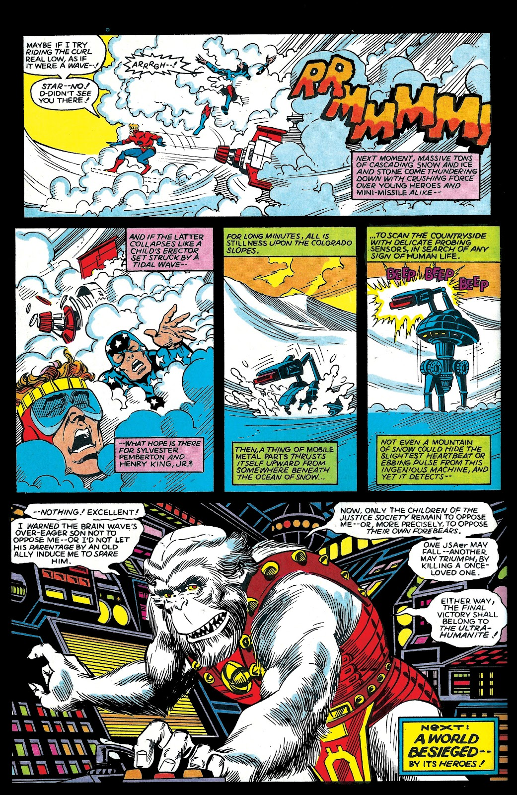 Infinity Inc. (1984) issue 6 - Page 23