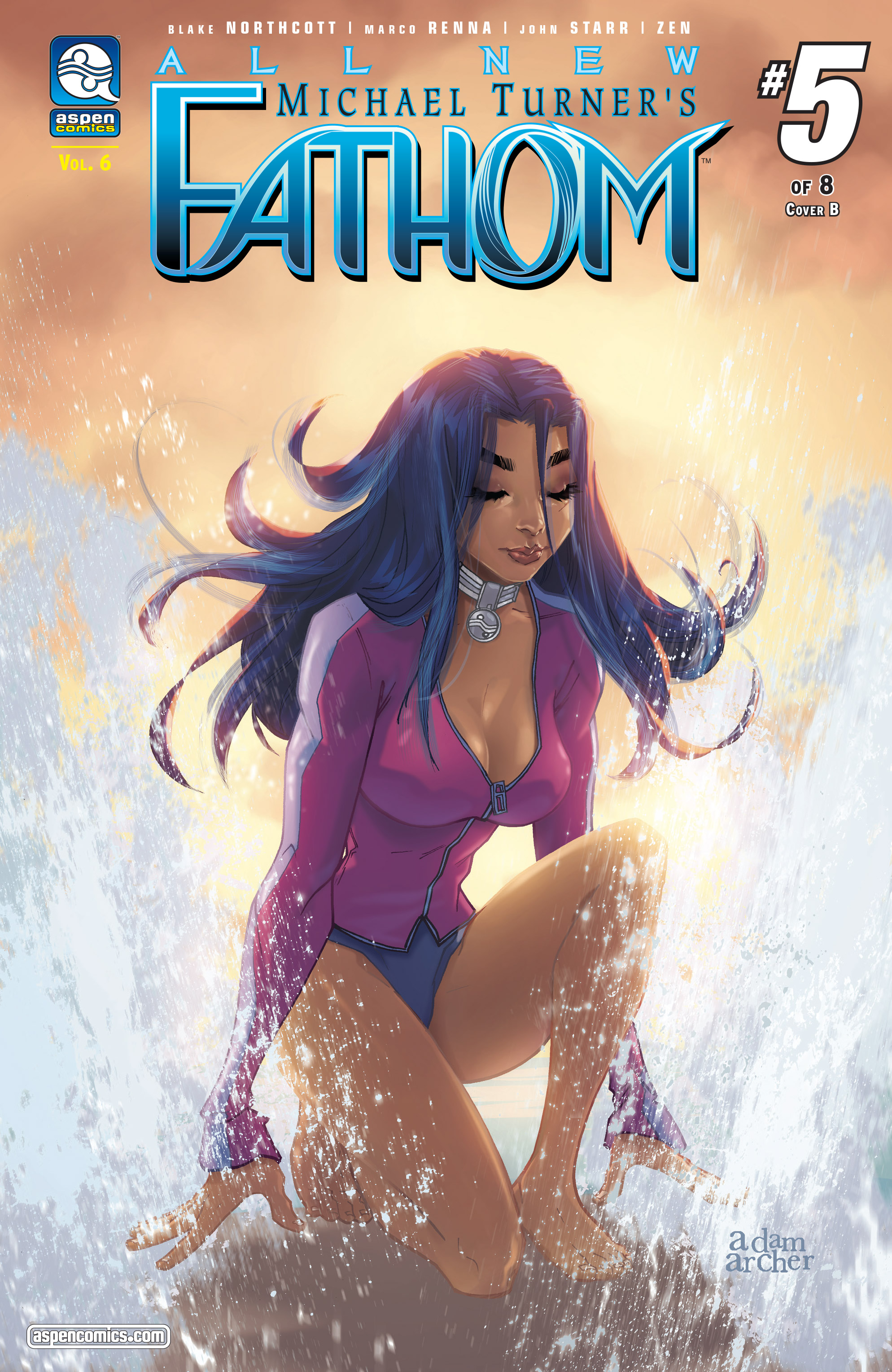 Read online Fathom (2017) comic -  Issue #5 - 2