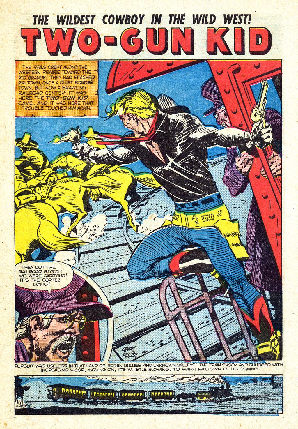 Read online Two-Gun Kid comic -  Issue #25 - 10