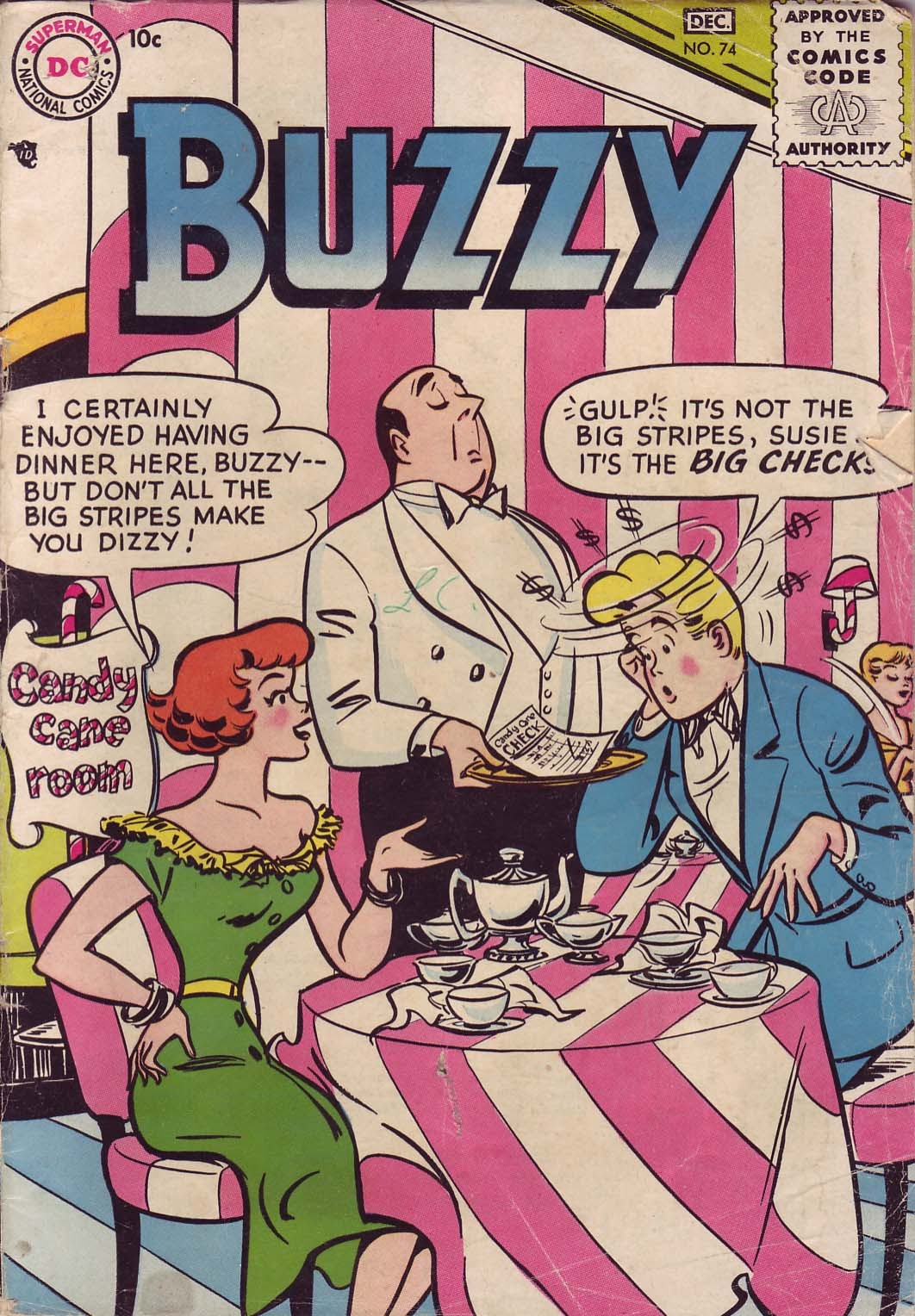 Buzzy issue 74 - Page 1