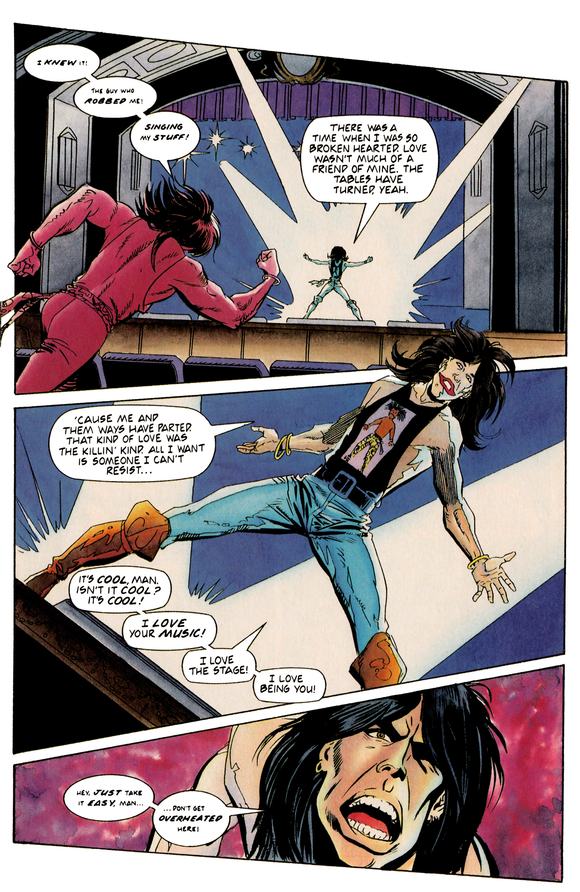 Read online Shadowman (1992) comic -  Issue #19 - 17
