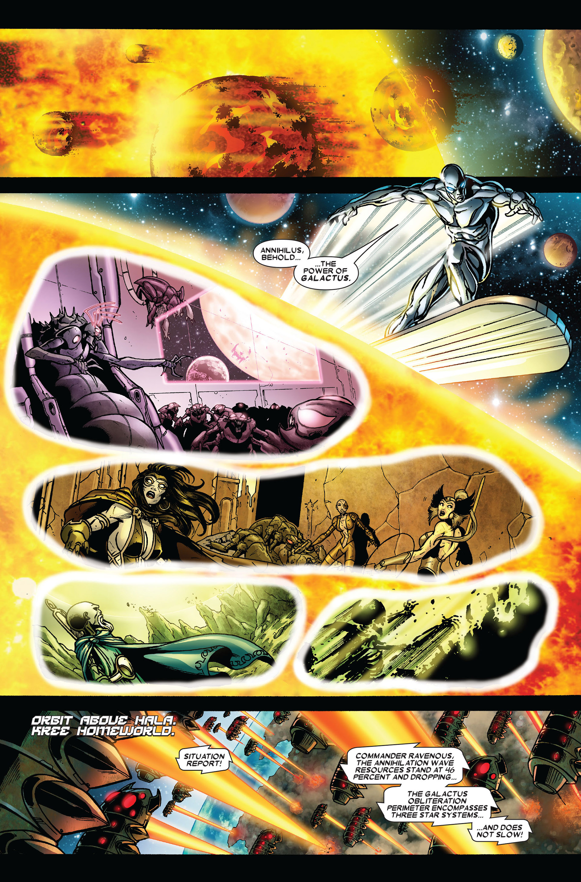 Read online Annihilation comic -  Issue #6 - 7