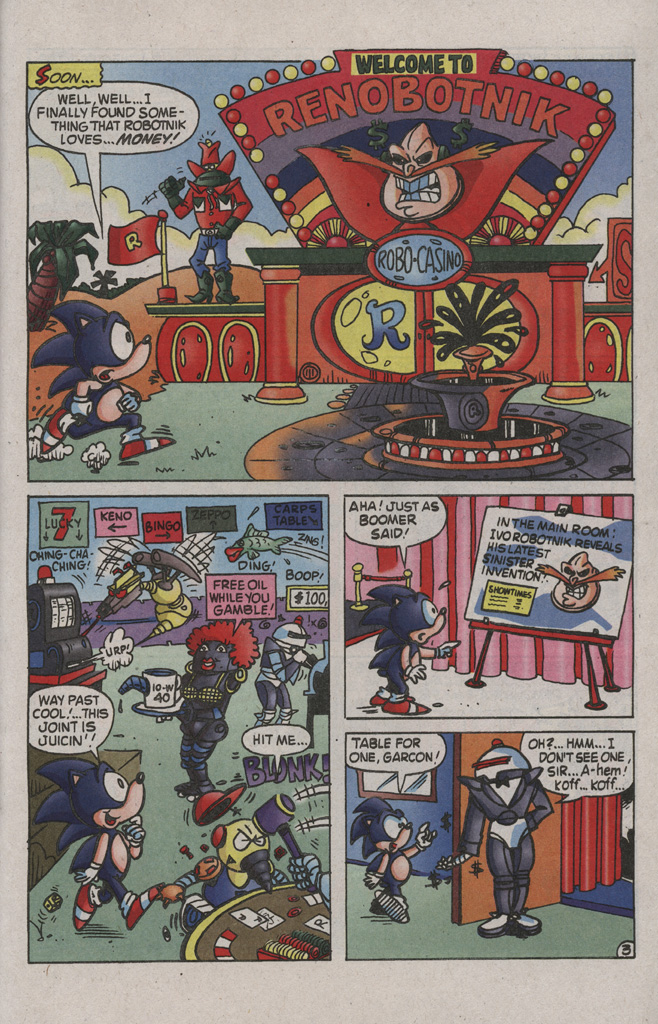 Read online Sonic the Hedgehog Free Comic Book Day Edition comic -  Issue # Special 2 - 23