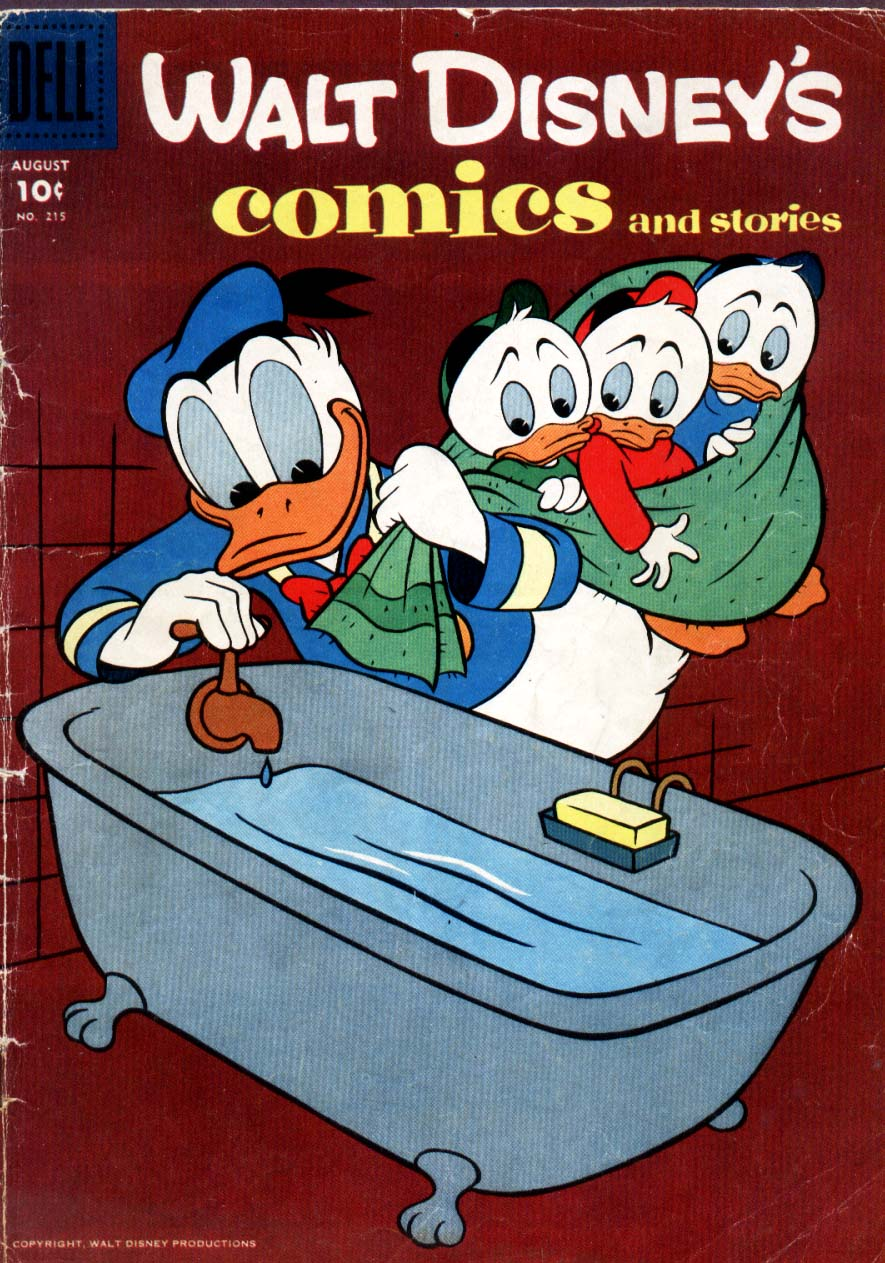 Walt Disney's Comics and Stories issue 215 - Page 1