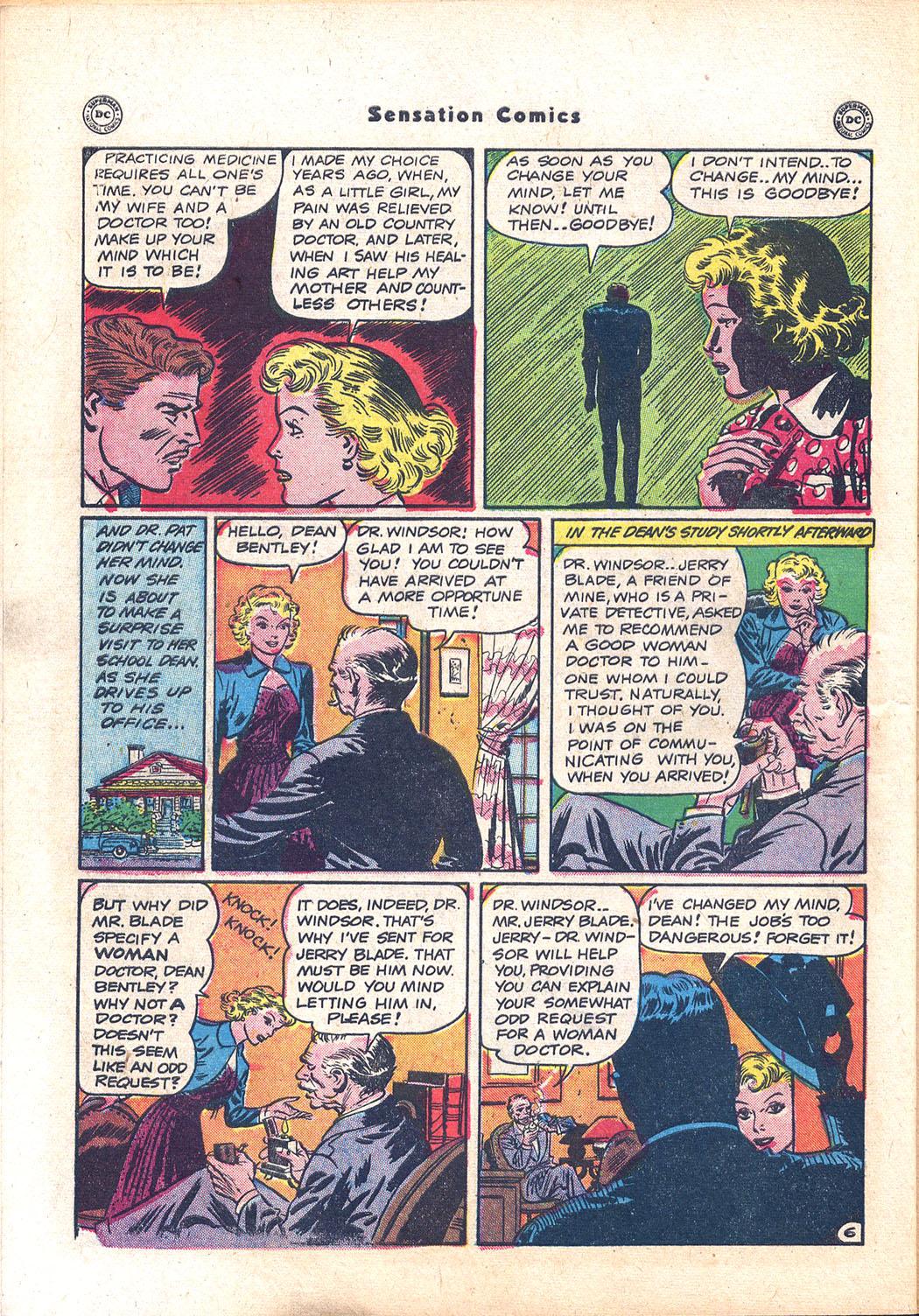 Read online Sensation (Mystery) Comics comic -  Issue #94 - 44